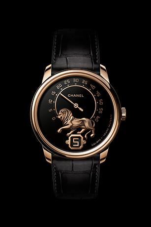 Monsieur Watch, BEIGE GOLD,