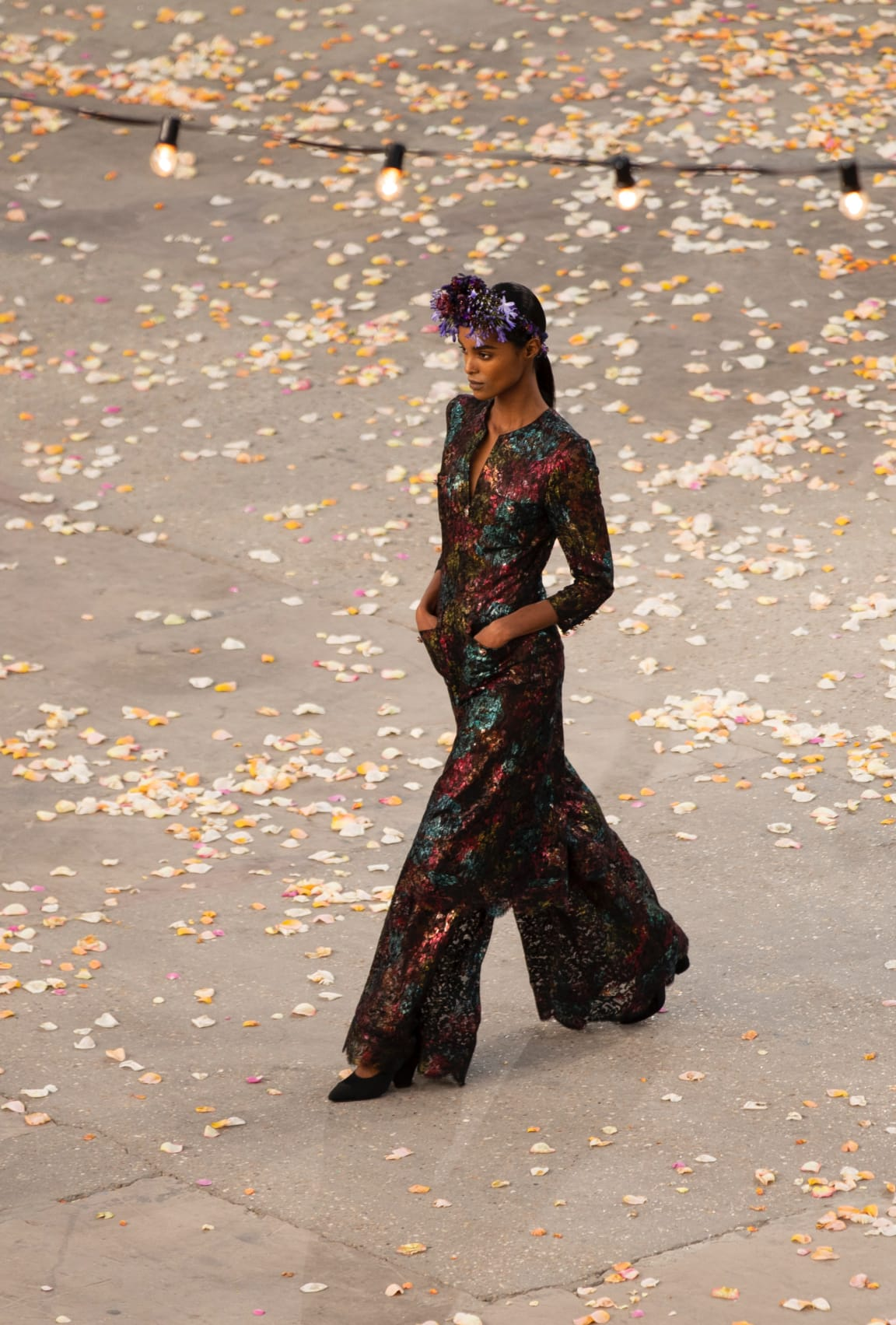 View 3 - Look 23 - Spring-Summer 2021 Haute Couture - see full sized version