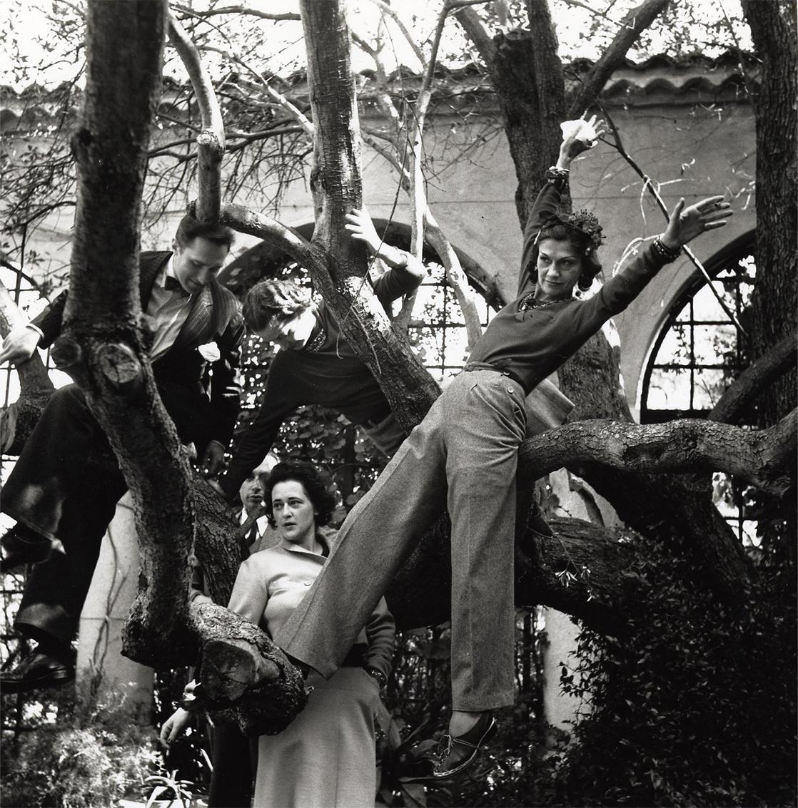 غابريال شانيل - لا بوزا - 1930