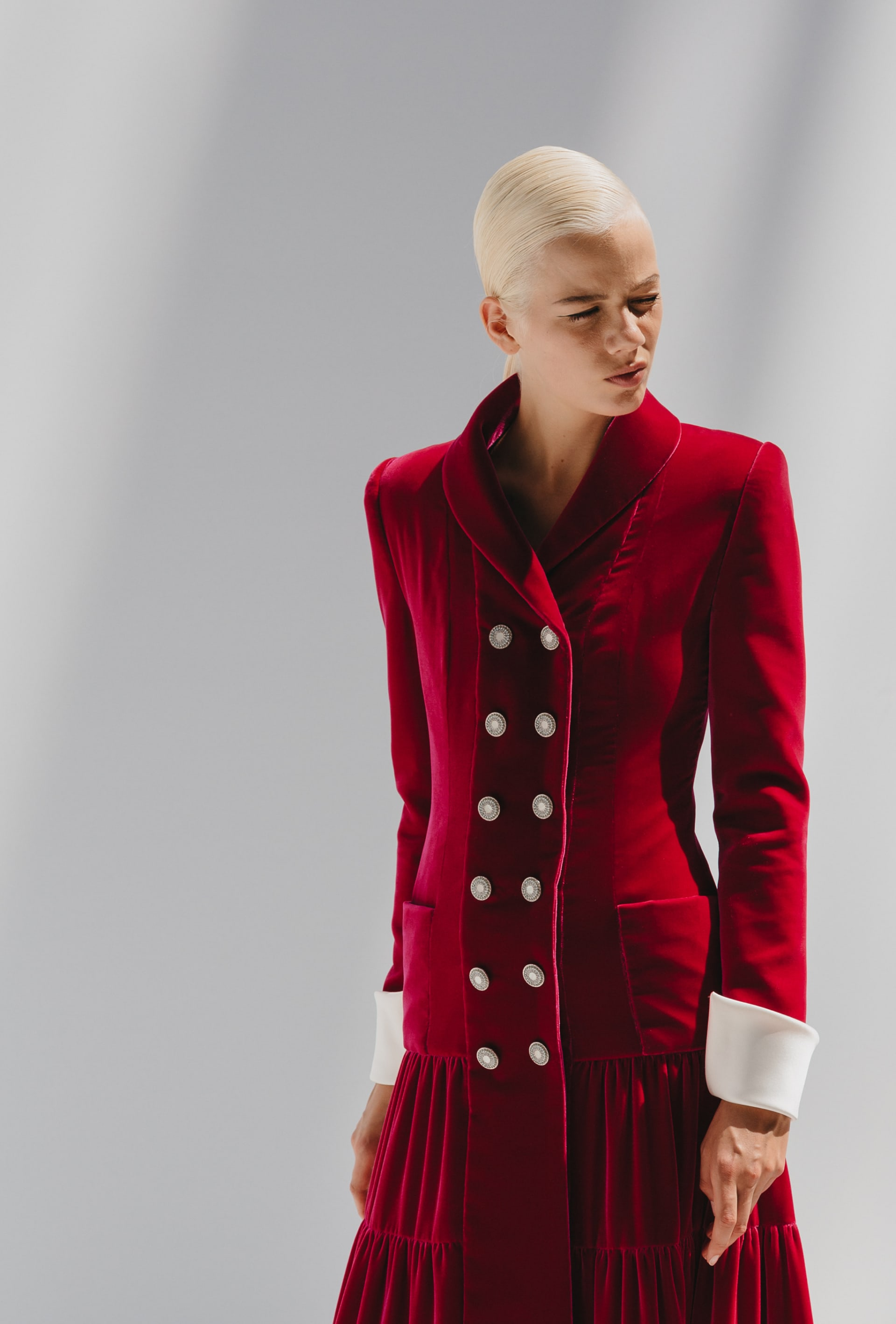 View 2 - Look 52 - Fall-Winter 2019/20 Haute-Couture - see full sized version