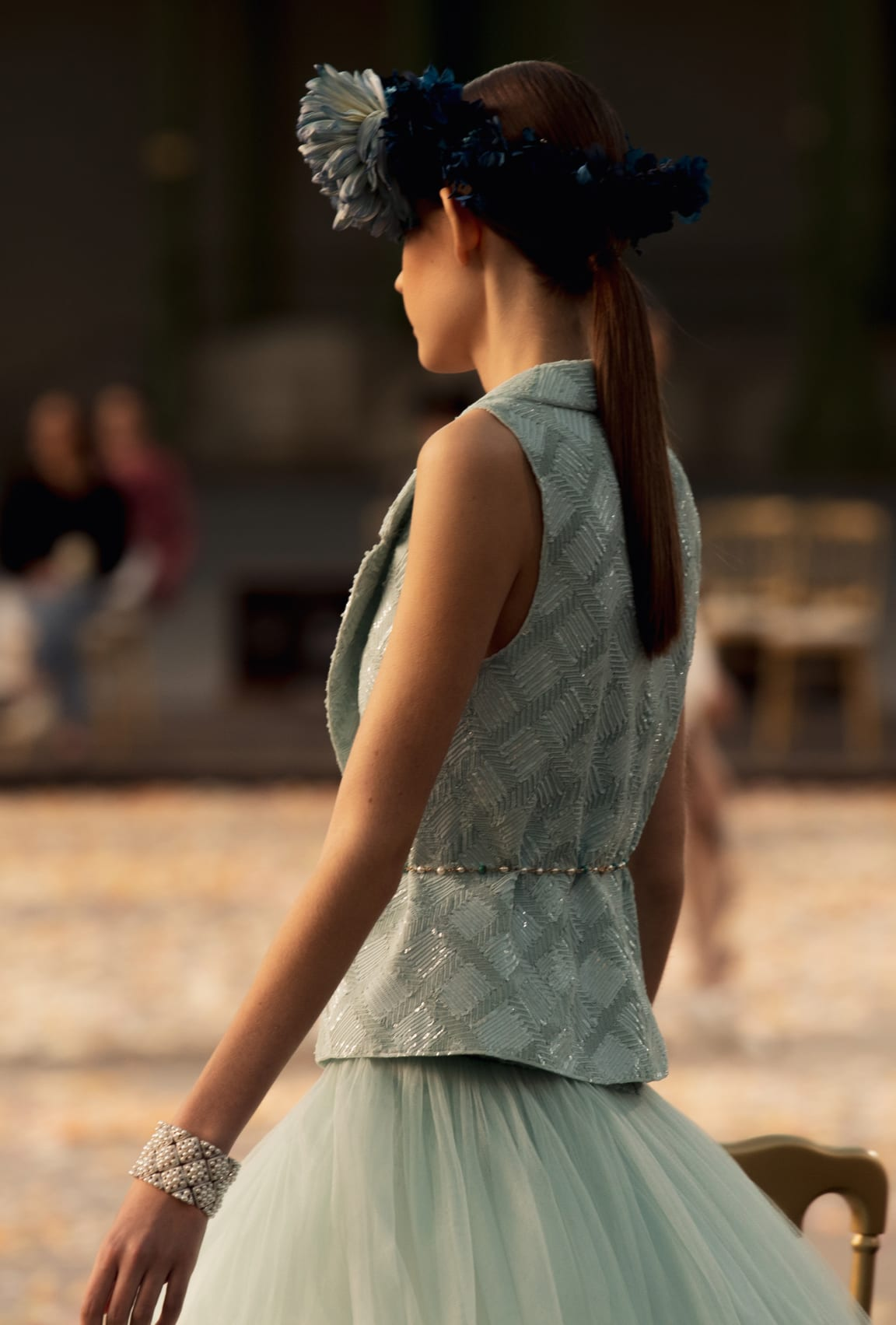 View 4 - Look 27 - Spring-Summer 2021 Haute Couture - see full sized version