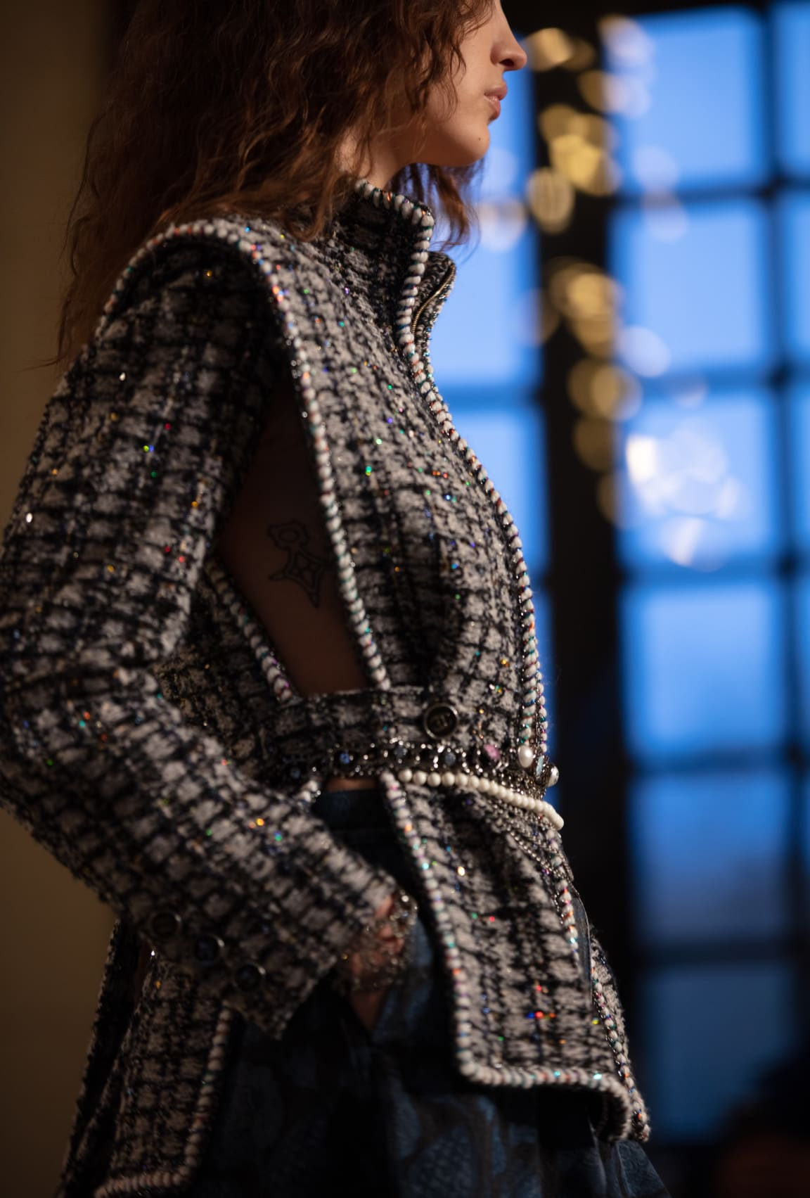 View 2 - Look 19 - Métiers d'Art 2020/21 - see full sized version