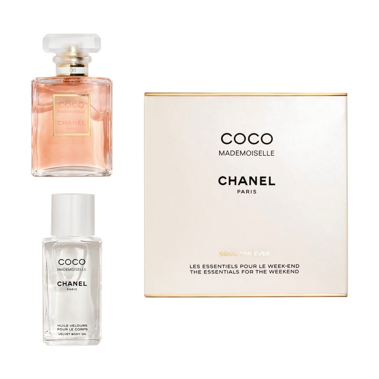 COCO MADEMOISELLE THE ESSENTIALS FOR THE WEEKEND
