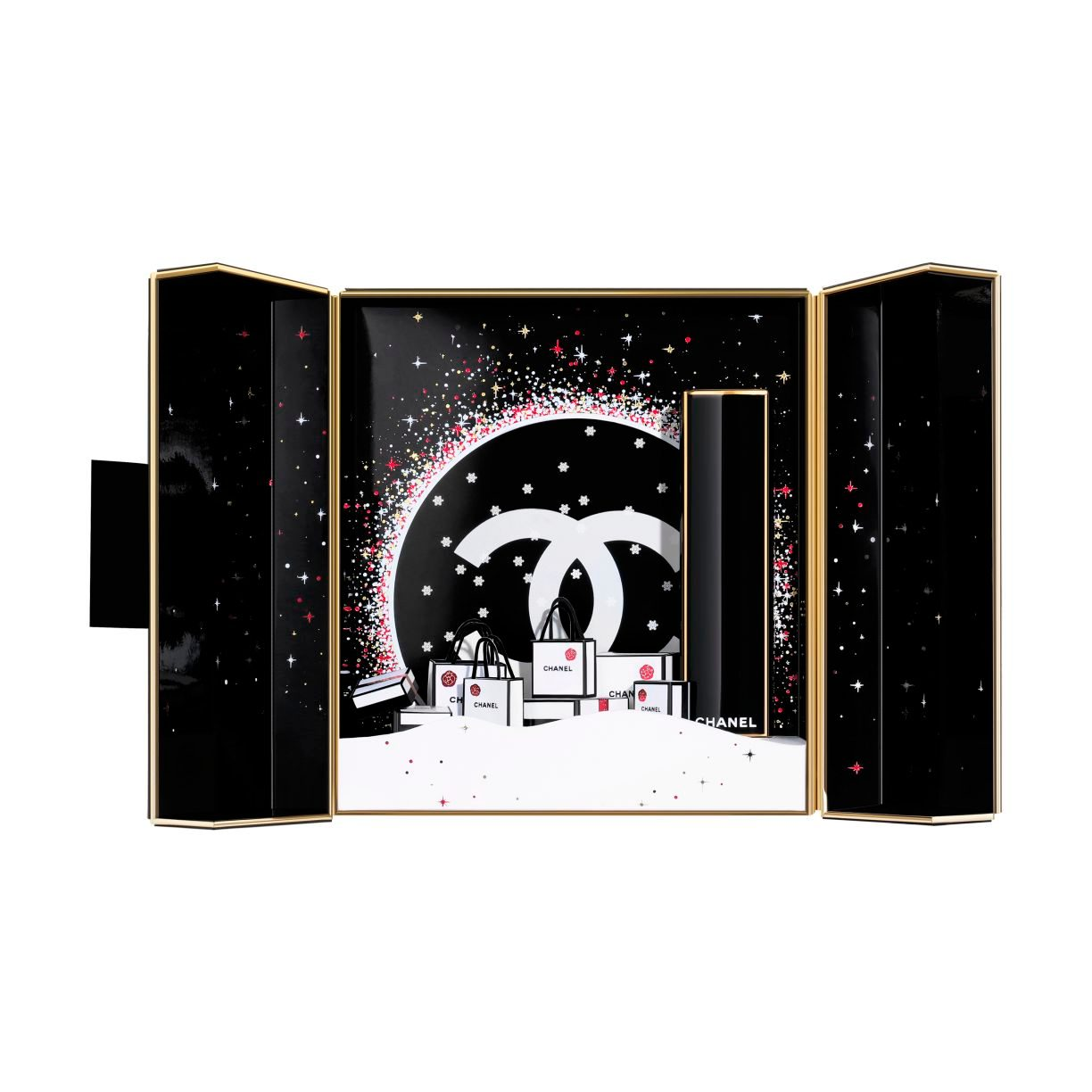 COFFRET ROUGE ALLURE EXCLUSIEVE CREATIE - LIMITED EDITION. 837 - ROUGE SPECTACULAIRE