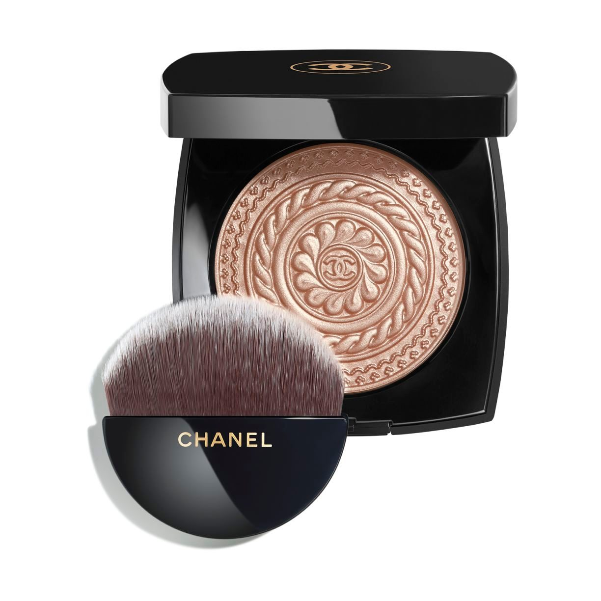 ÉCLAT MAGNÉTIQUE DE CHANEL EXCLUSIVE CREATION - LIMITED EDITION ILLUMINATING POWDER - METAL PEACH