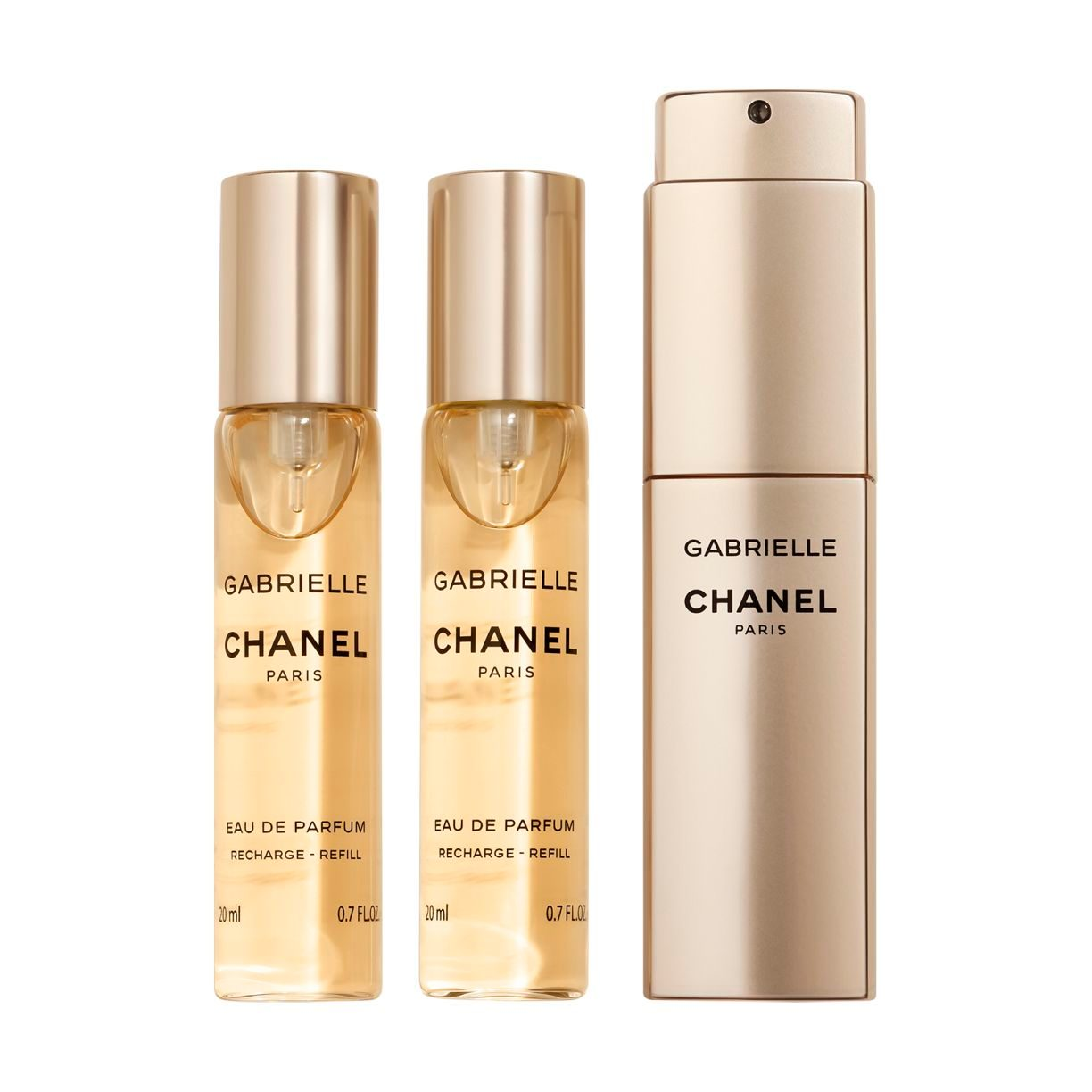GABRIELLE CHANEL ماء عطر GABRIELLE CHANEL برأس دوار TWIST AND SPRAY 3x20ml