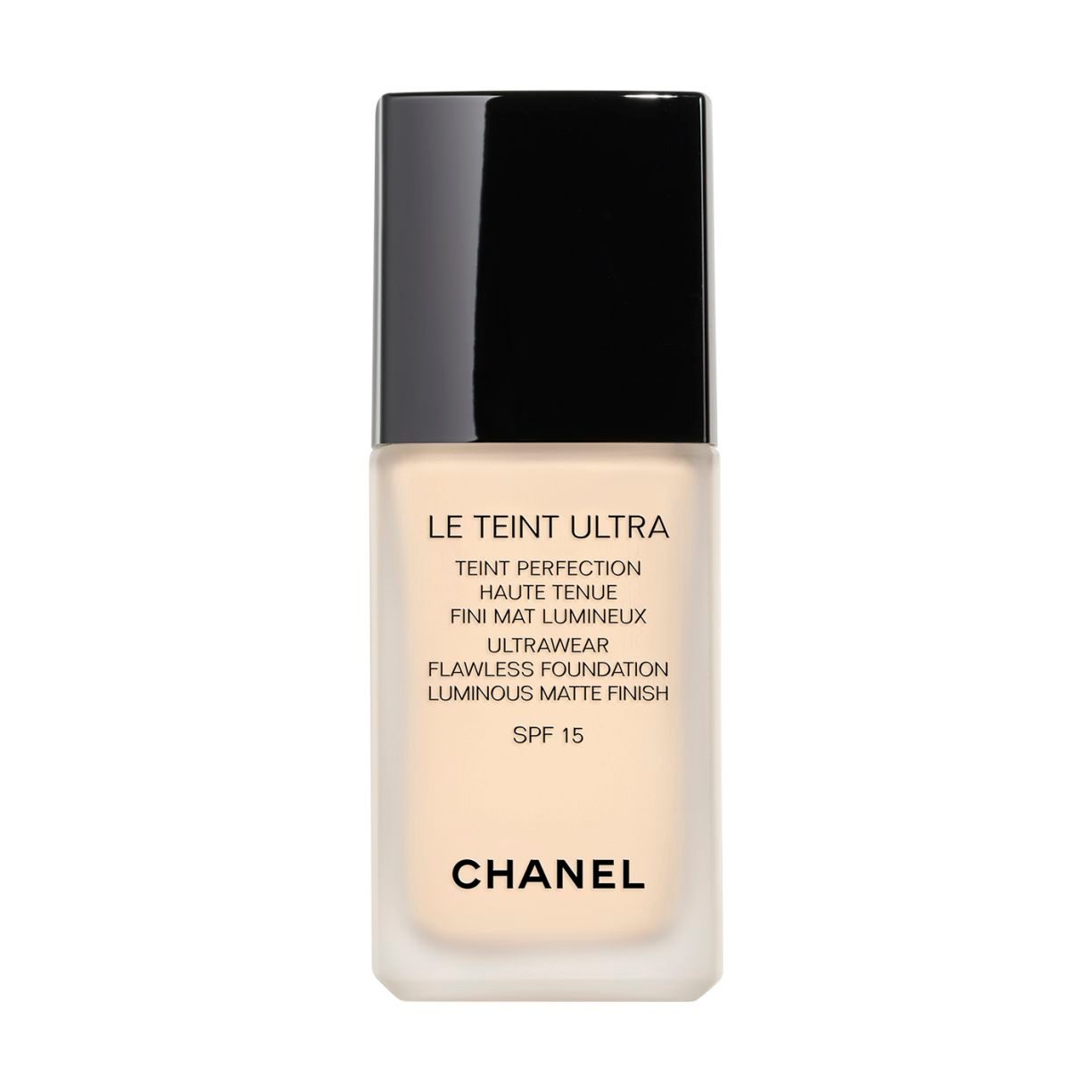 LE TEINT ULTRA ULTRAWEAR FLAWLESS FOUNDATION LUMINOUS MATTE FINISH. SPF 15