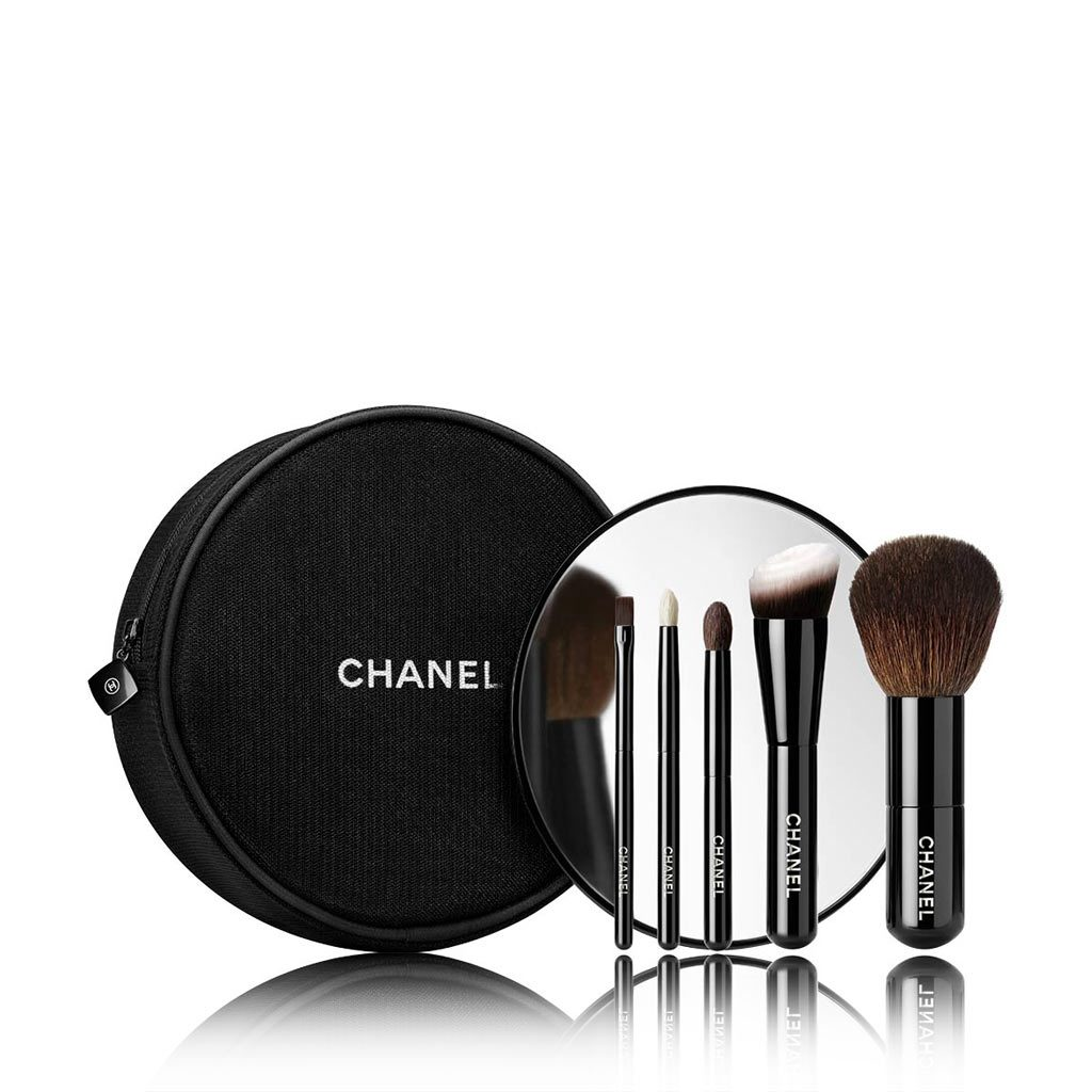 LES MINI DE CHANEL COLLECTION OF 5 ESSENTIAL MINI BRUSHES