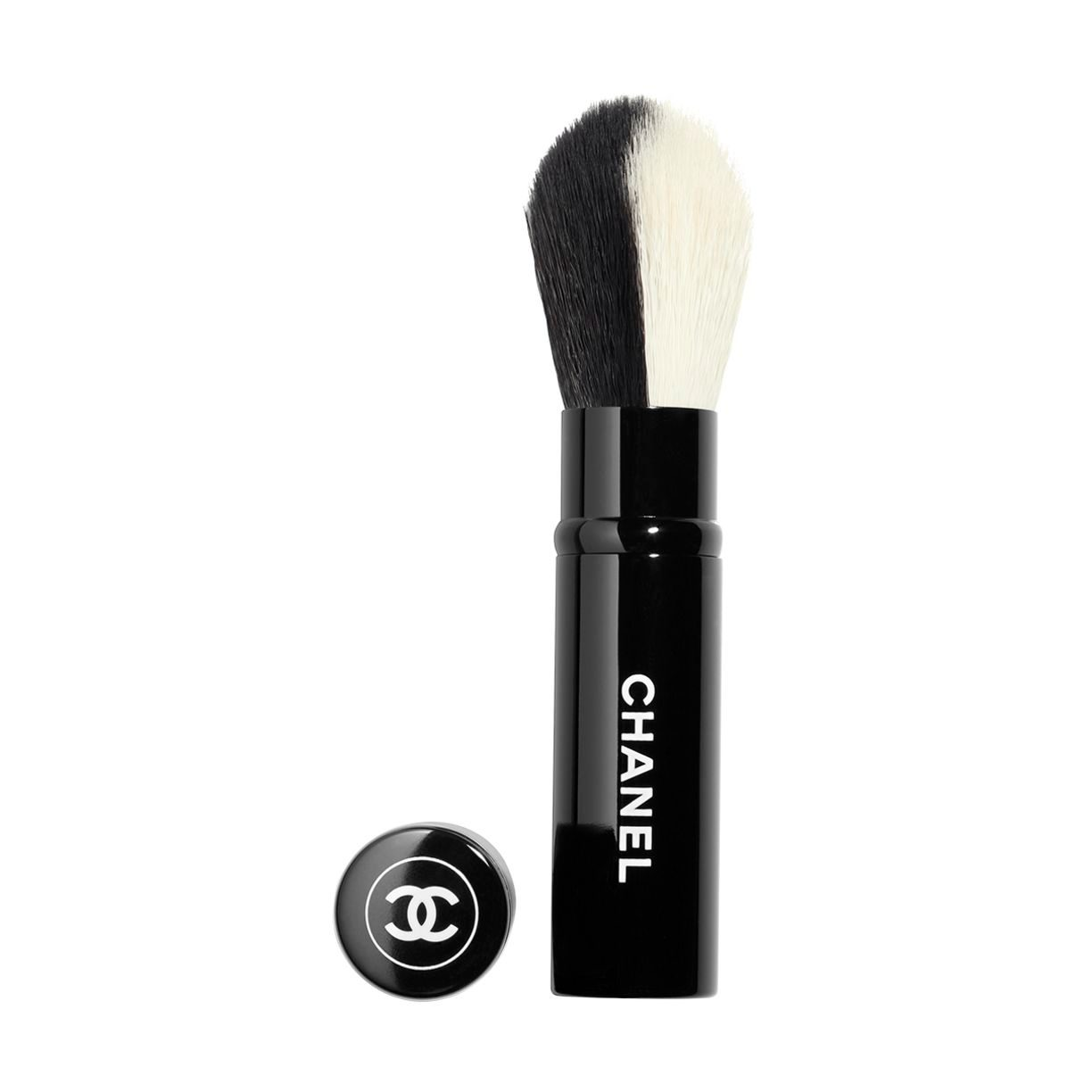 LES PINCEAUX DE CHANEL RETRACTABLE DUAL-HEAD FACE BRUSH BLUSH/HIGHLIGHTER
