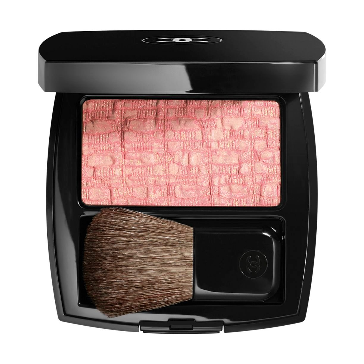 LES TISSAGES DE CHANEL BLUSH DUO TWEED EFFECT 10 - TWEED PINK