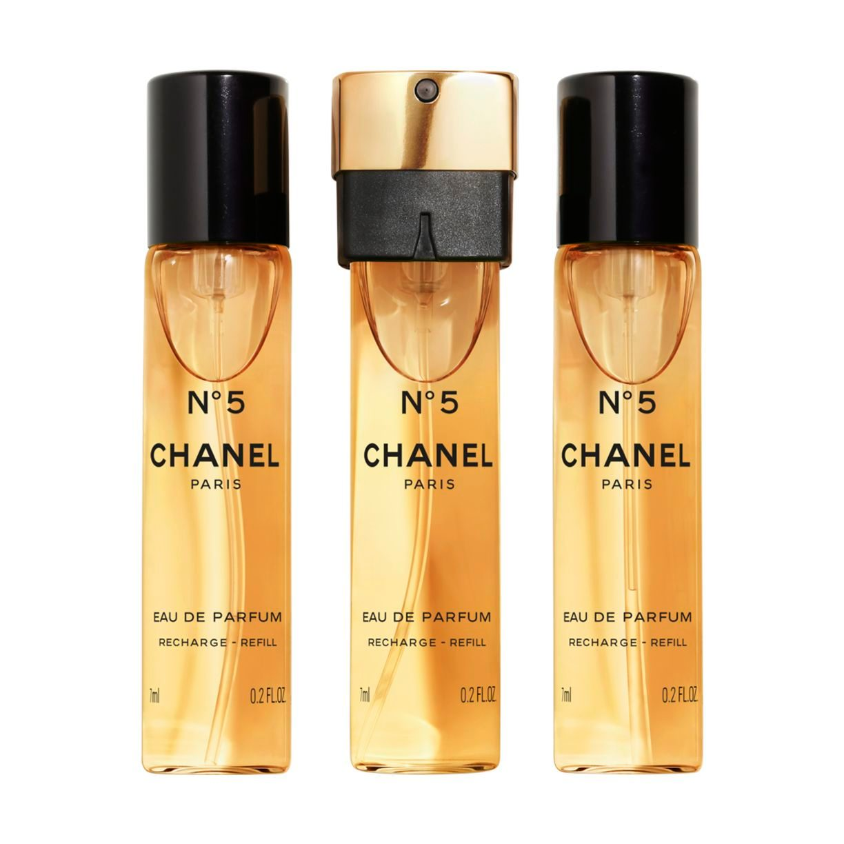 N°5 N°5 EAU DE PARFUM MINI TWIST AND SPRAY 3x7ml Recharge