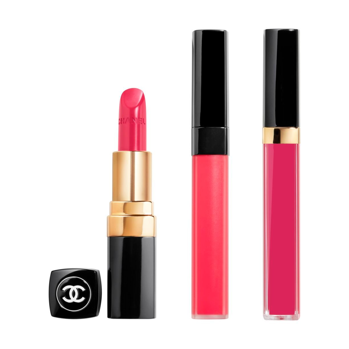 ROUGE COCO LIP BLUSH, ROUGE COCO GLOSS AND ROUGE COCO ROUGE COCO trio 1pce