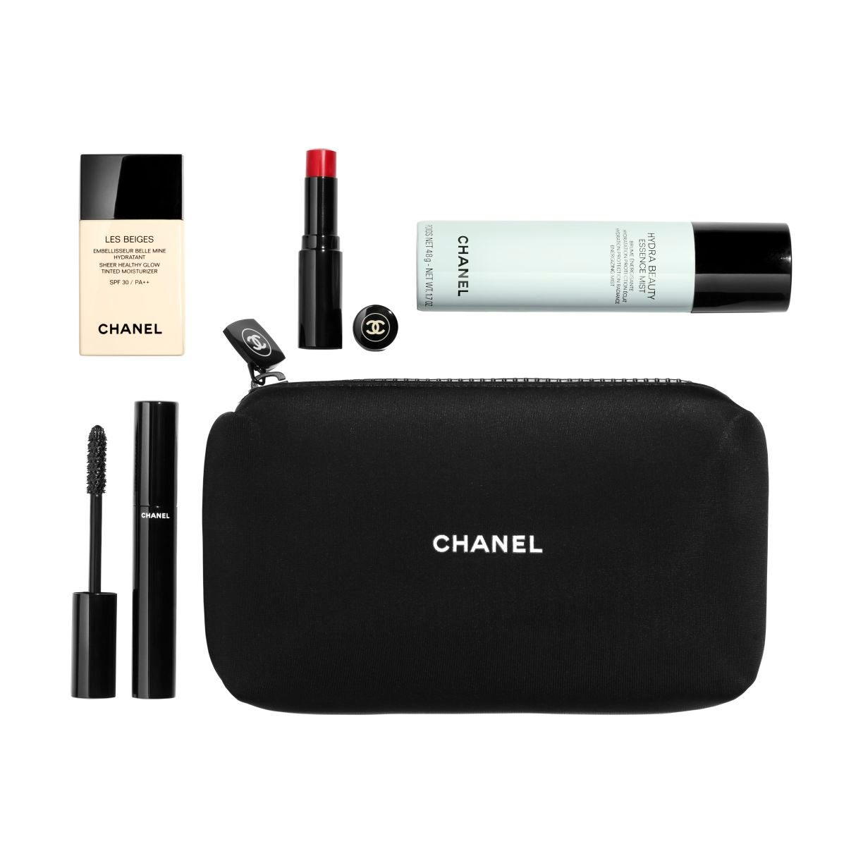 SET SPORT DE CHANEL WORKOUT BEAUTY ROUTINE ESSENTIALS MEDIUM LIGHT