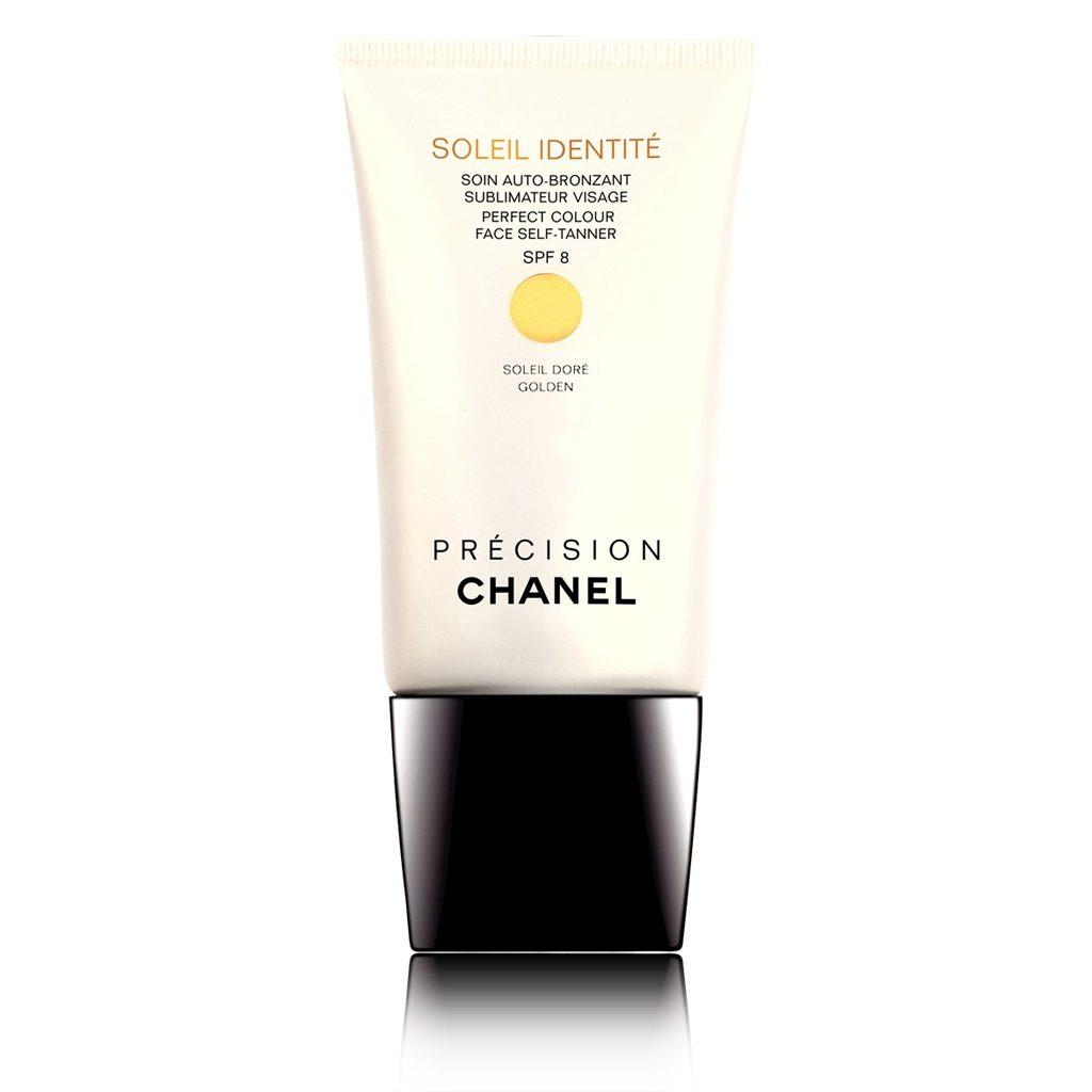 SOLEIL IDENTITÉ PERFECT COLOUR FACE SELF-TANNER SPF 8 GOLDEN 50ml