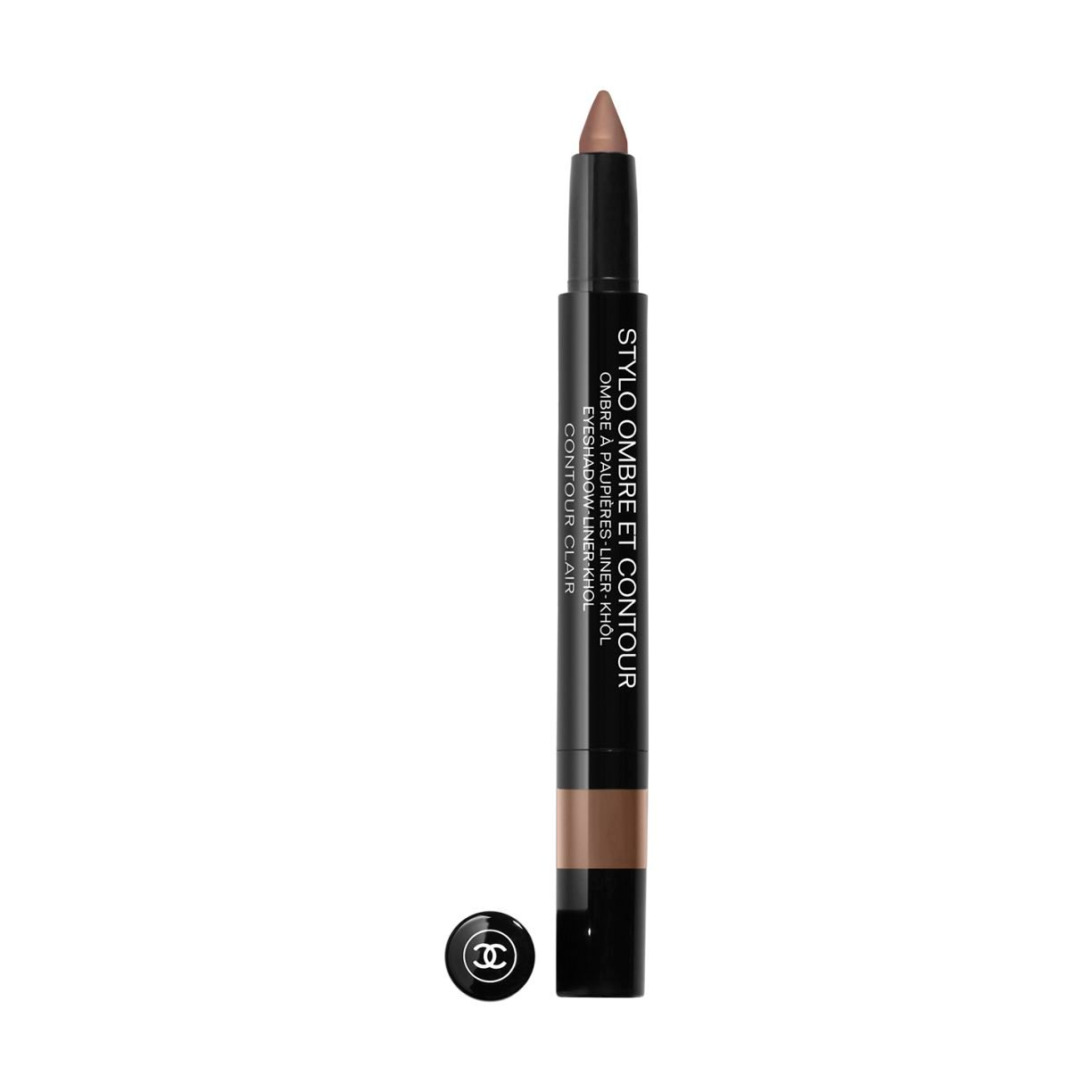 STYLO OMBRE ET CONTOUR With its medium-thick tip, STYLO OMBRE ET CONTOUR may be used as a kohl, liner or eyeshadow. In a few strokes, this 3-in-1 pen adorns your eyes according to your whims.