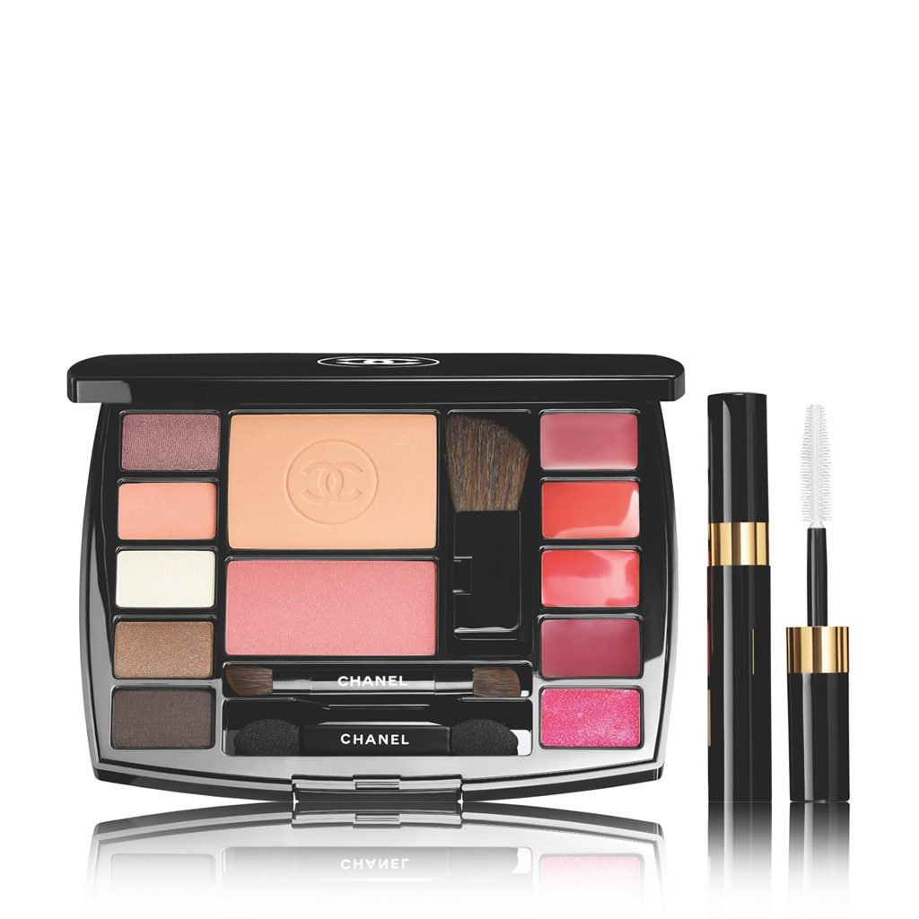 TRAVEL MAKEUP PALETTE MAKEUP ESSENTIALS WITH TRAVEL MASCARA