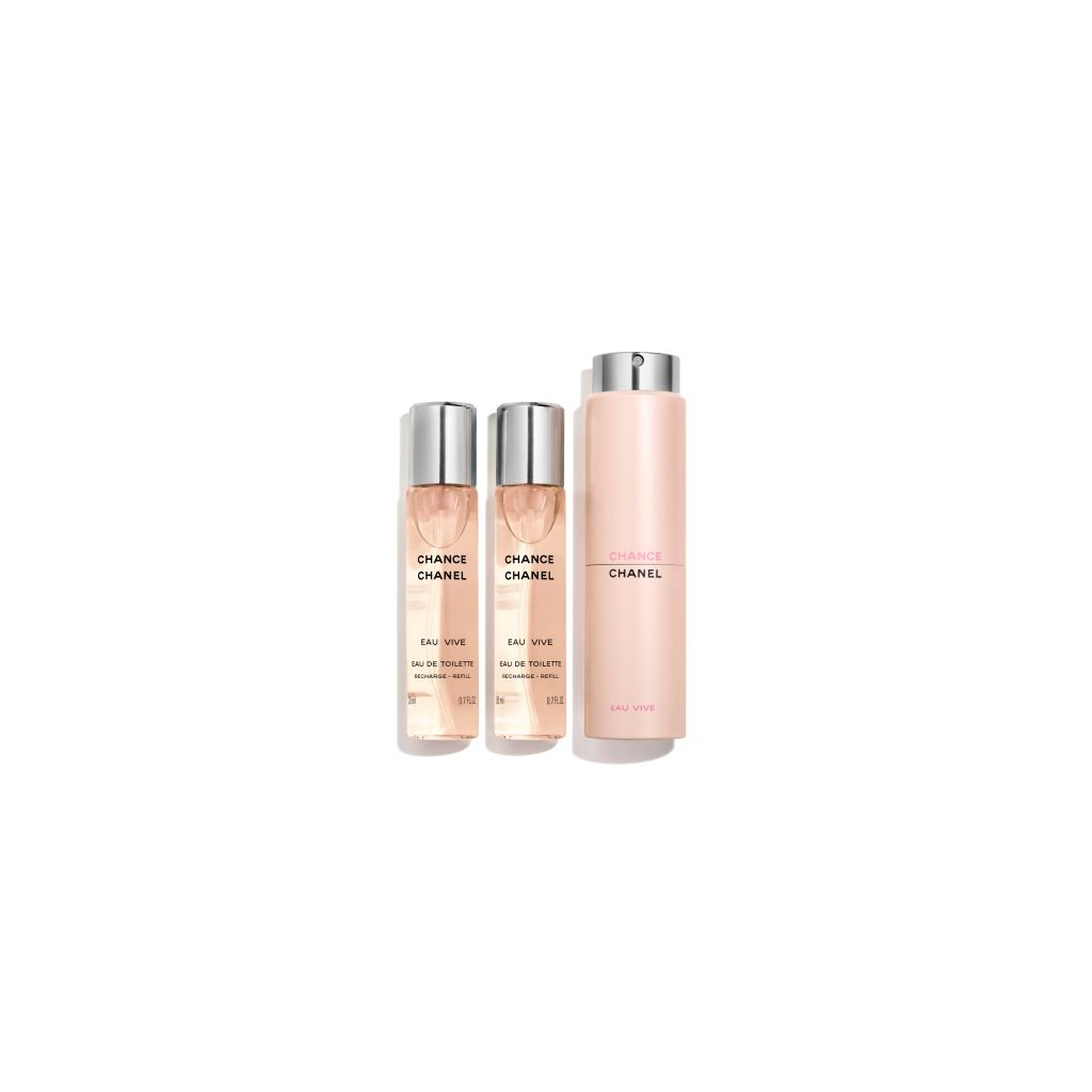 CHANCE EAU VIVE ماء تواليت بخاخ Twist and Spray 3 x 20ml