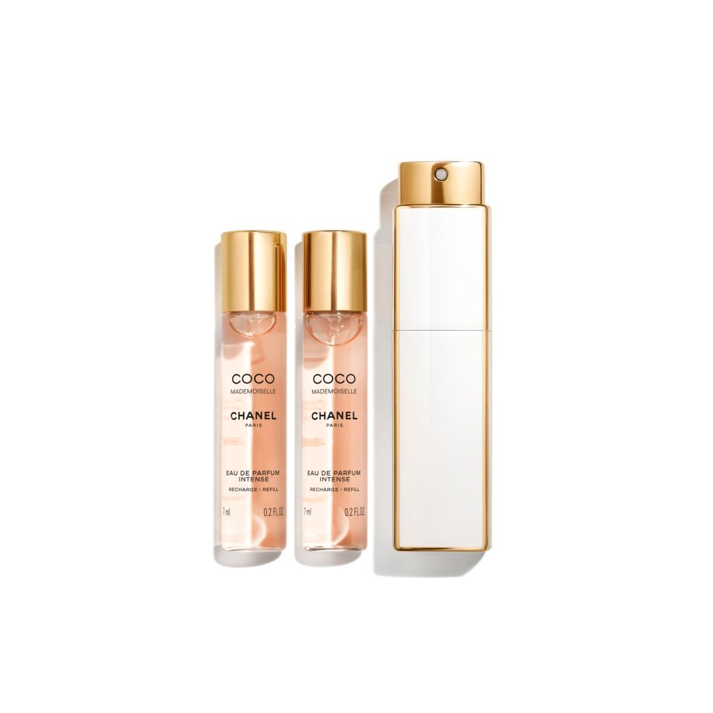 COCO MADEMOISELLE EAU DE PARFUM INTENSE MINI TWIST AND SPRAY 3 x 7ml