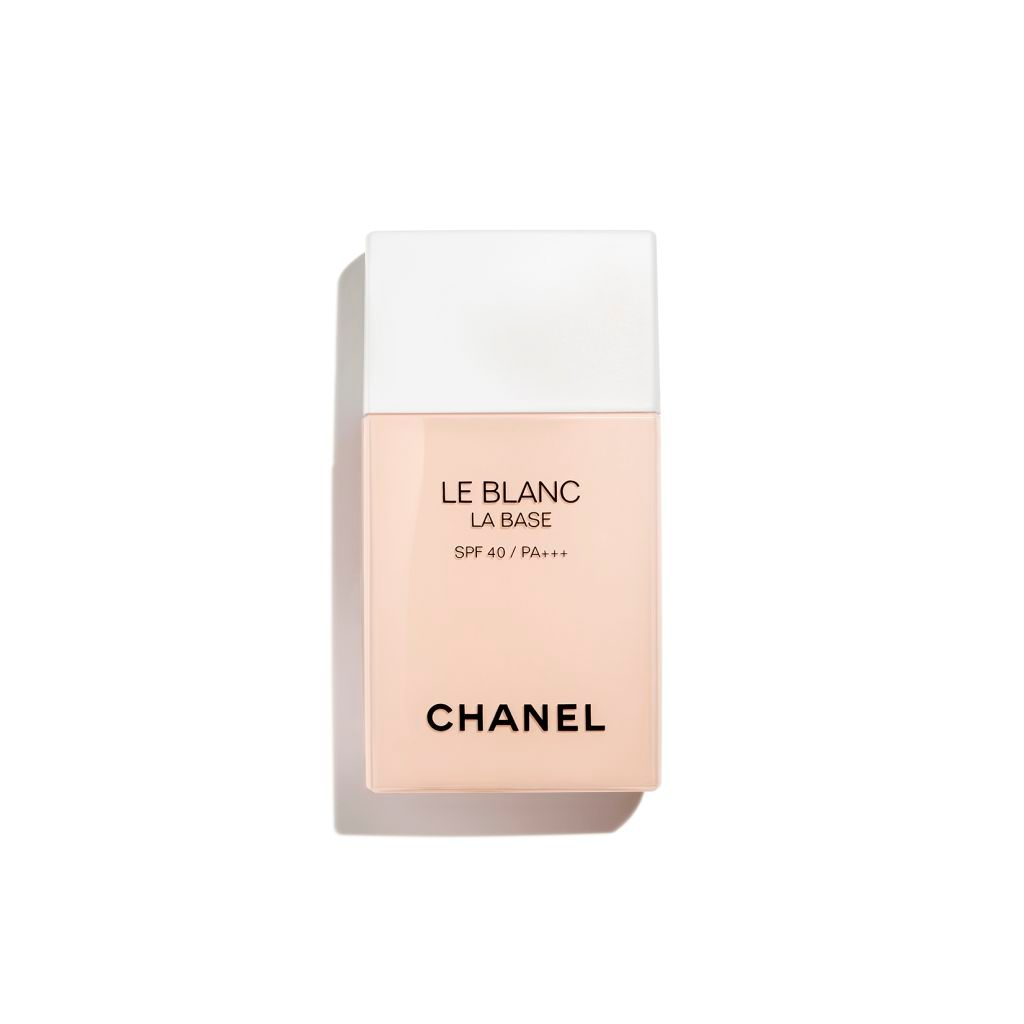 LE BLANC LA BASE CORRECTING BRIGHTENING MAKEUP BASE. LONG-LASTING RADIANCE AND COMFORT / SPF 40 / PA +++ ROSÉE