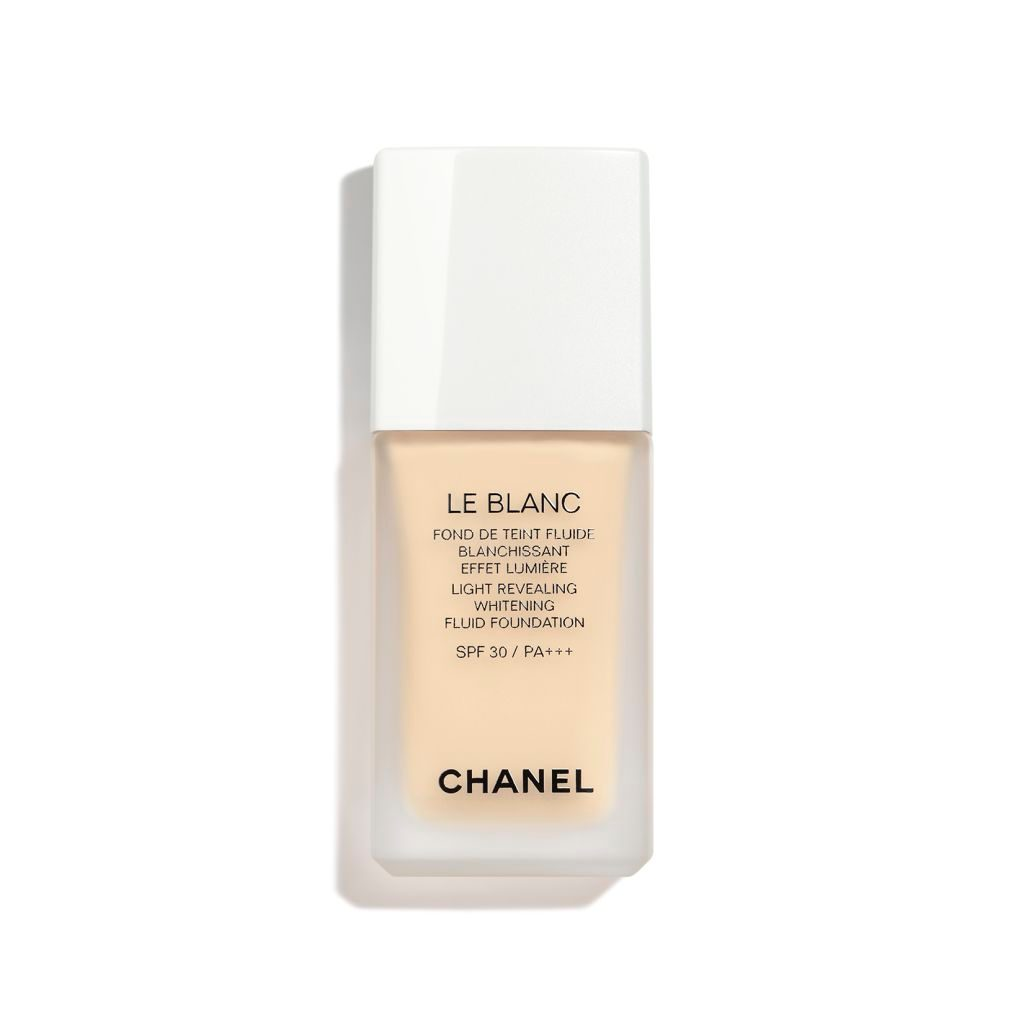LE BLANC LIGHT REVEALING WHITENING FLUID FOUNDATION SPF 30 / PA+++ 10 - BEIGE