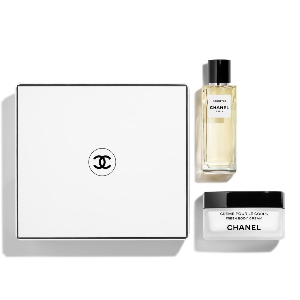 GARDÉNIA LES EXCLUSIFS DE CHANEL - EAU DE PARFUM 75 ML AND FRESH BODY CREAM COFFRET 1pce