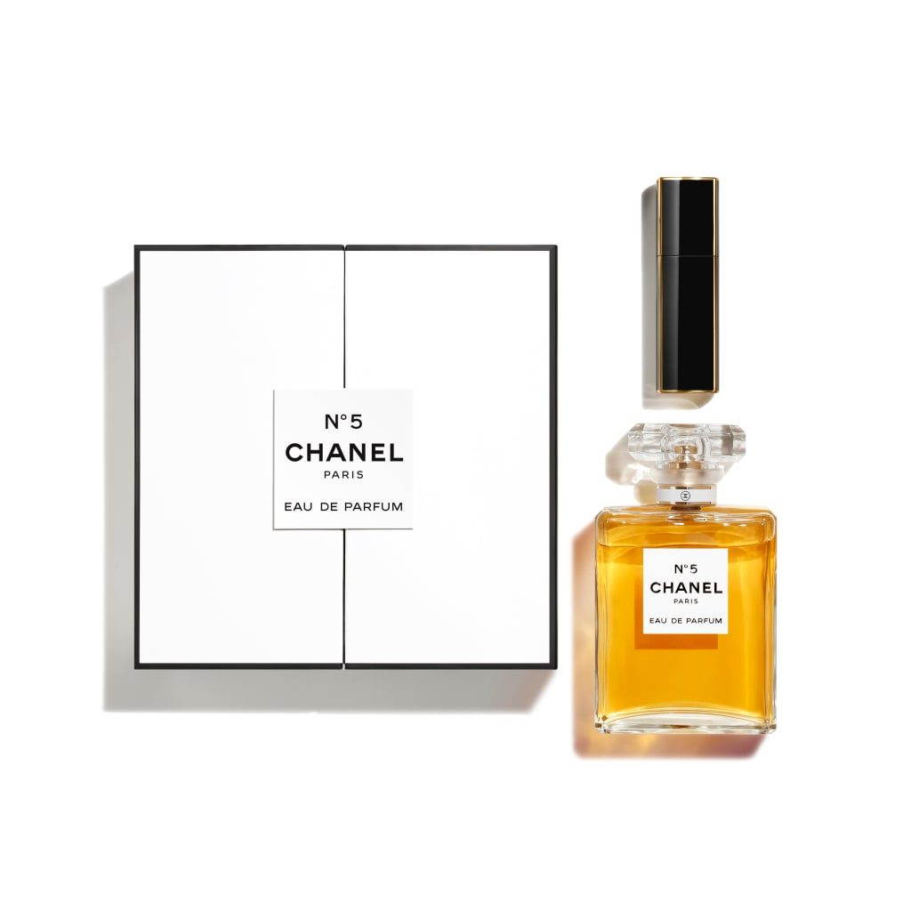 N°5 EAU DE PARFUM 100 ML + MINI TWIST AND SPRAY 7 ML COFFRET 1pce