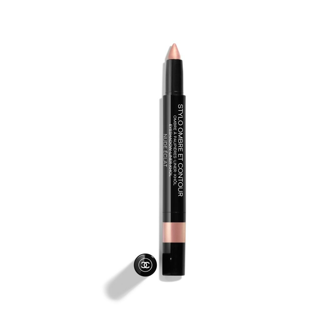 STYLO OMBRE ET CONTOUR With its medium-thick tip, STYLO OMBRE ET CONTOUR may be used as a kohl, liner or eyeshadow. In a few strokes, this 3-in-1 pen adorns your eyes according to your whims. 06 - NUDE ÉCLAT