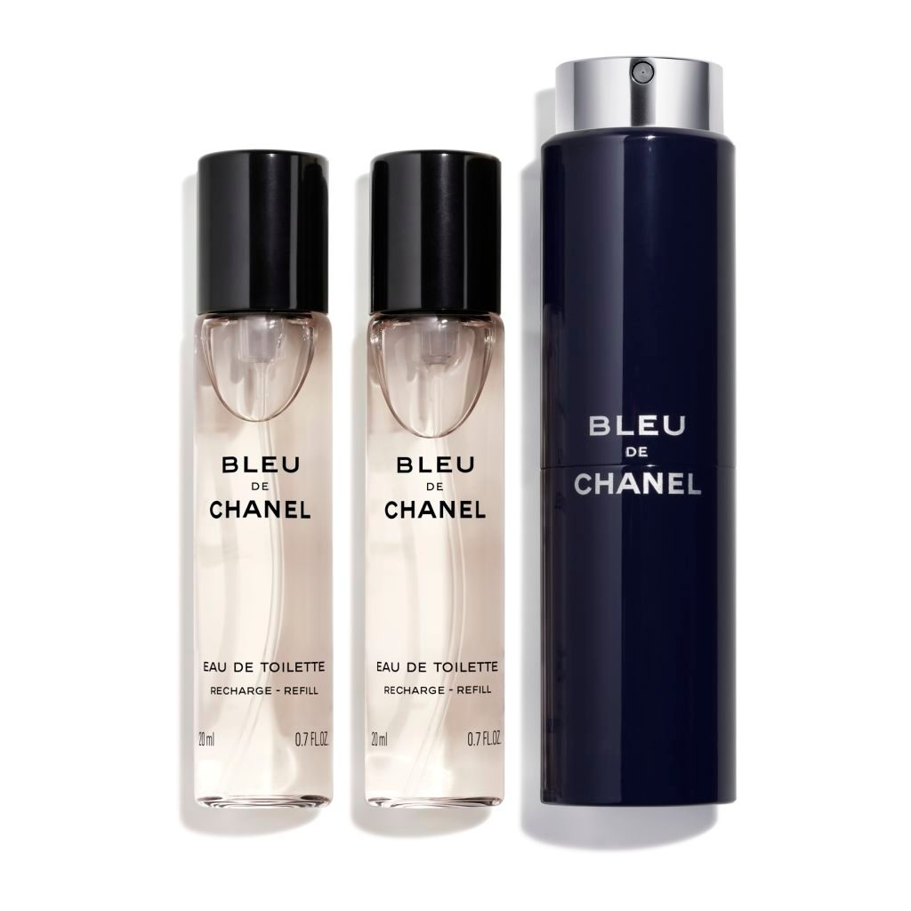BLEU DE CHANEL EAU DE TOILETTE TWIST AND SPRAY 3x20ml