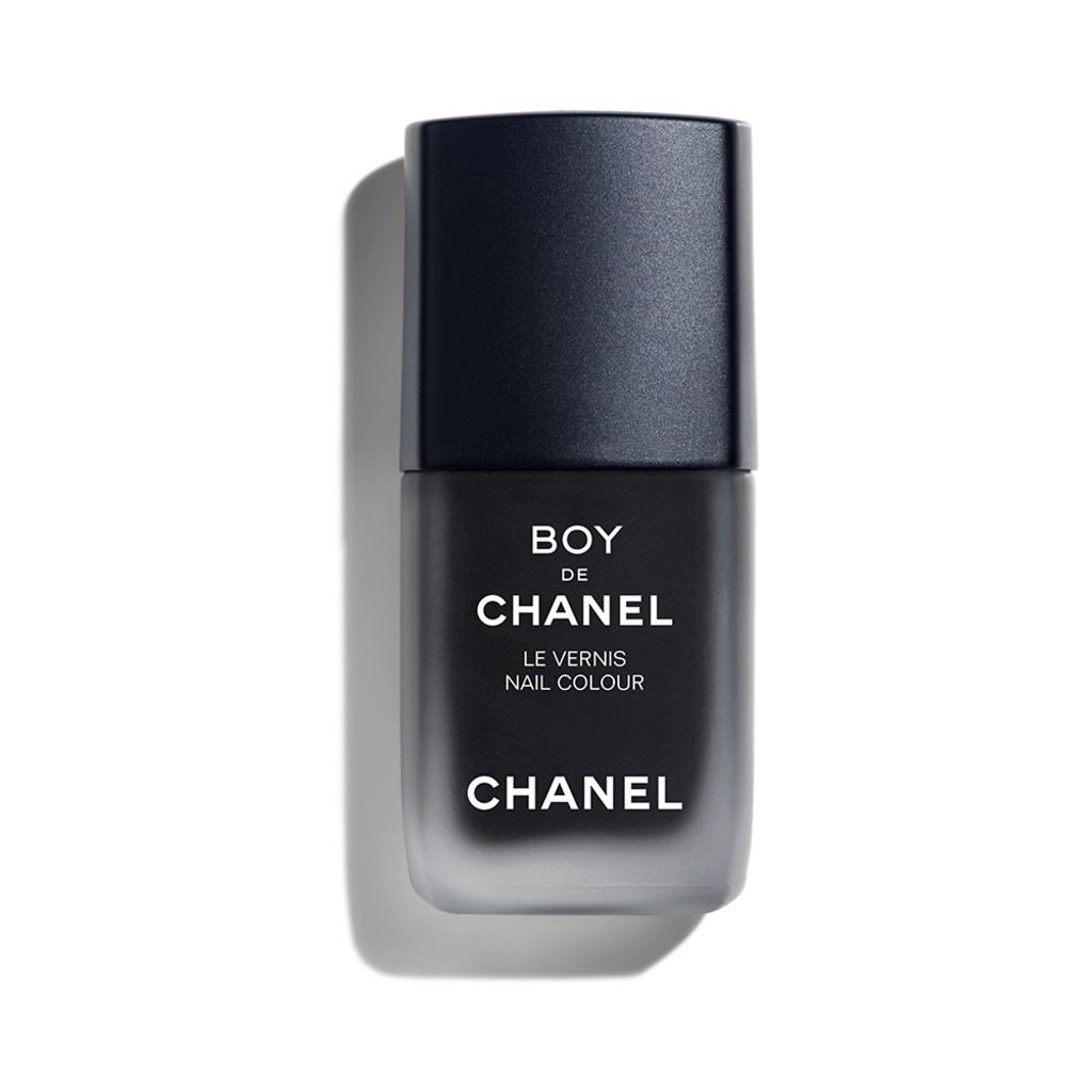 BOY DE CHANEL LE VERNIS LE VERNIS MAT. APPLICATION FACILE ET SÉCHAGE RAPIDE. 404 - BLACK