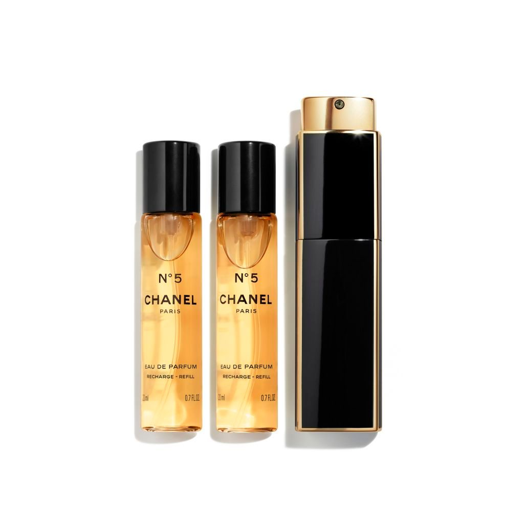 N°5 EAU DE PARFUM TWIST AND SPRAY 3x20ml
