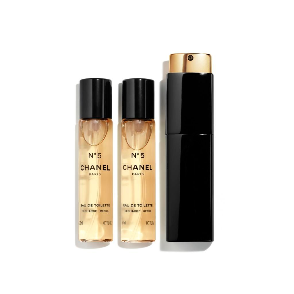 N°5 EAU DE TOILETTE TWIST AND SPRAY 3x20ml