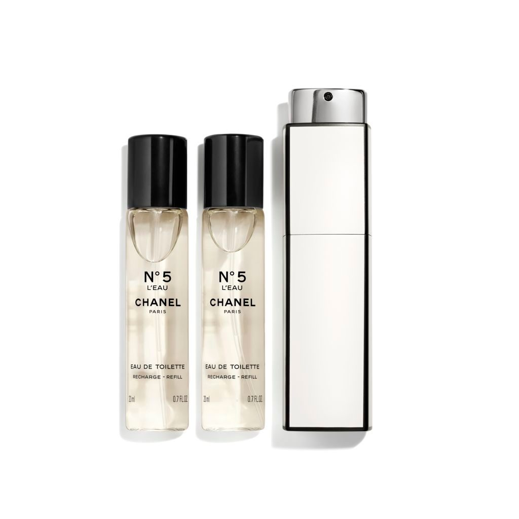 N°5 L'EAU EAU DE TOILETTE TWIST & SPRAY 3x20ml