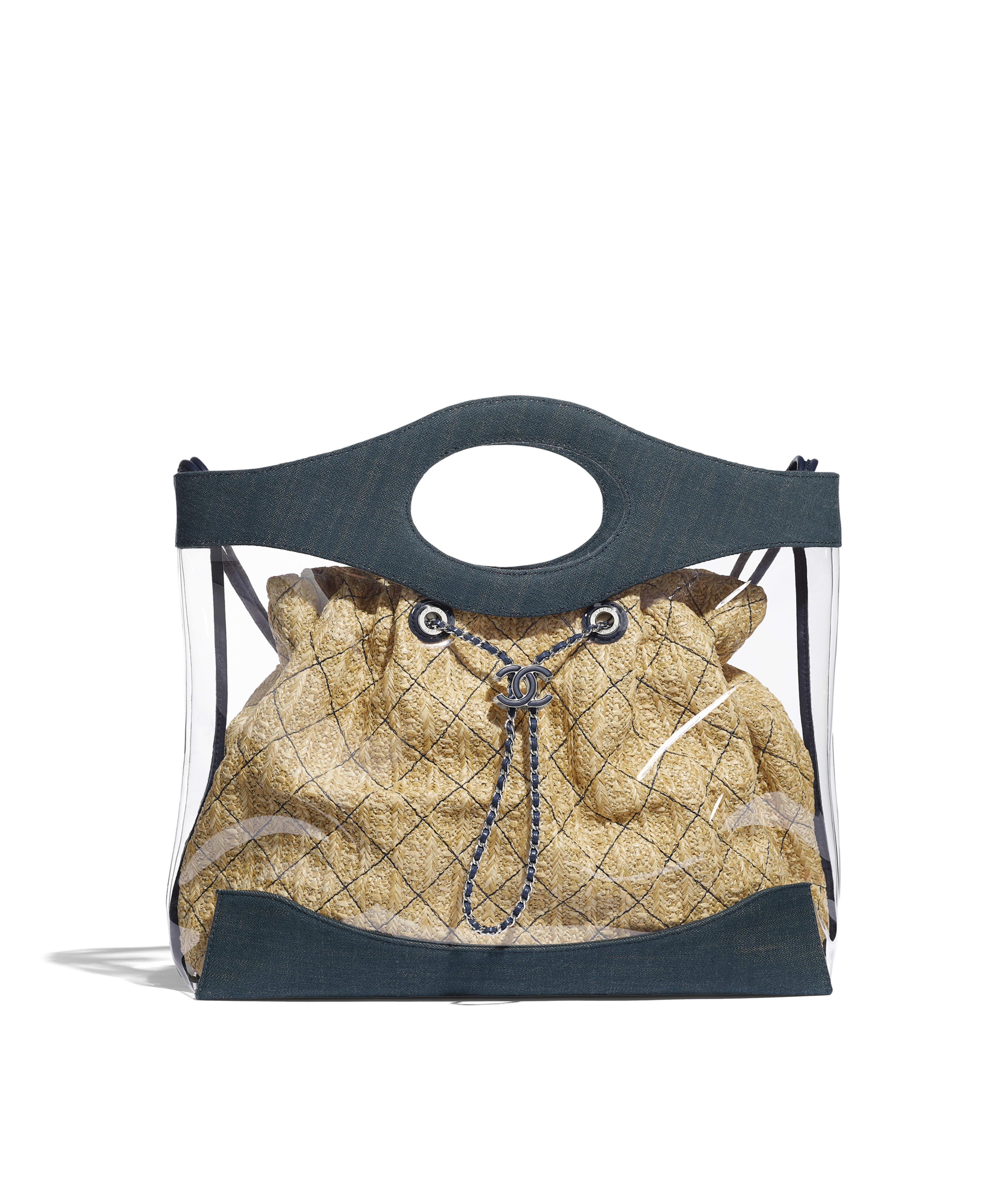 23212af8198c CHANEL 31 Shopping Bag PVC