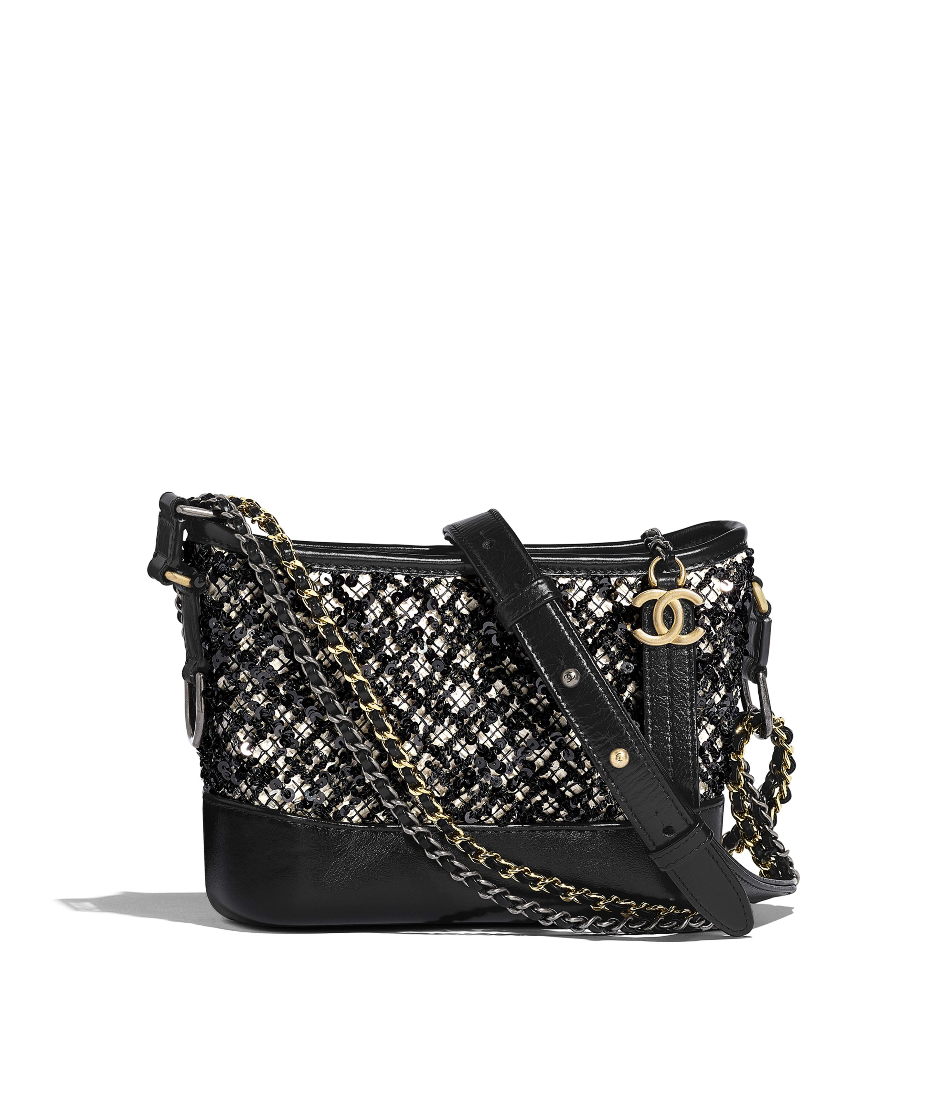 37f8458f80be CHANEL S GABRIELLE Small Hobo Bag Sequins