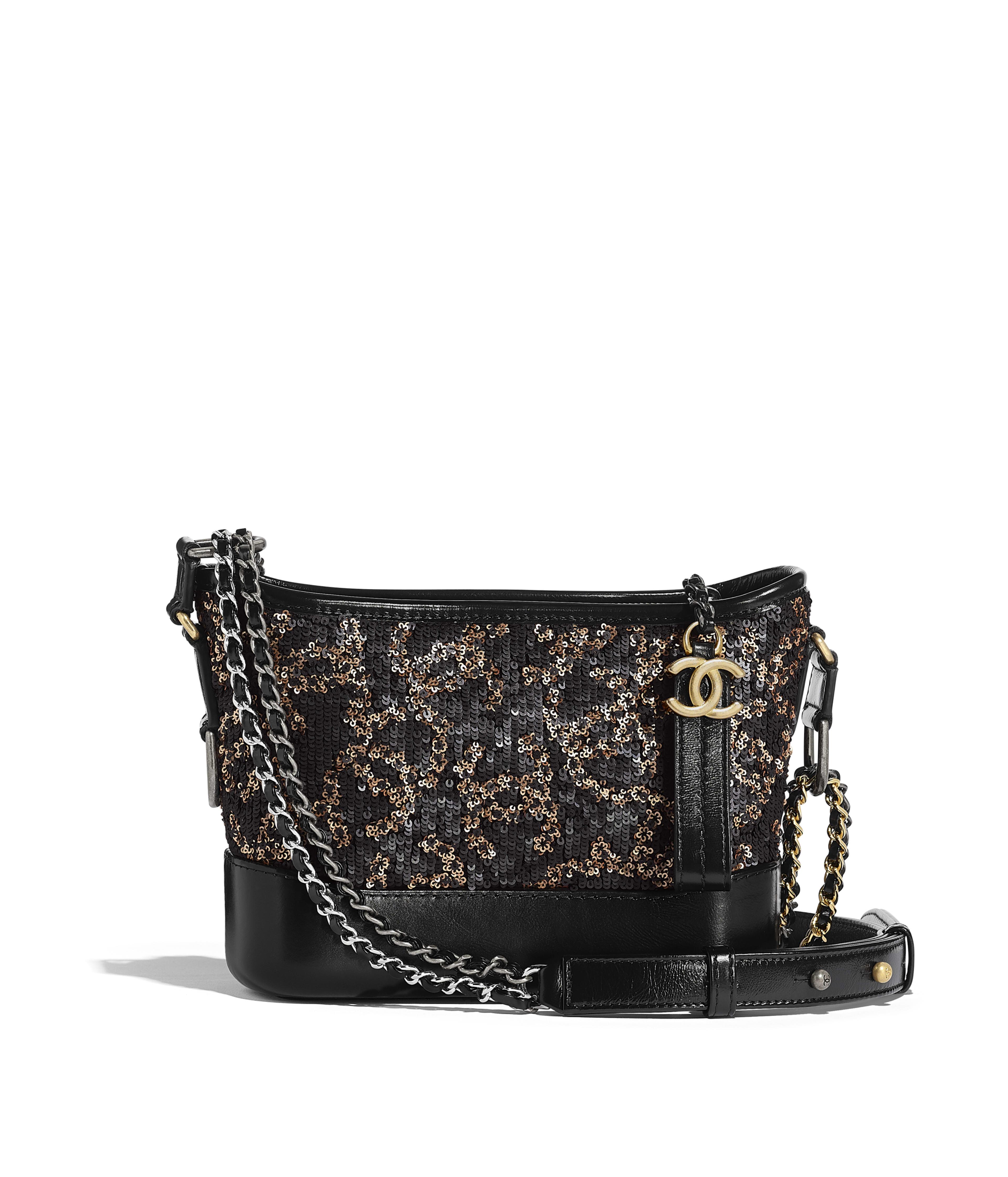 64b150c764cb CHANEL S GABRIELLE Small Hobo Bag Sequins