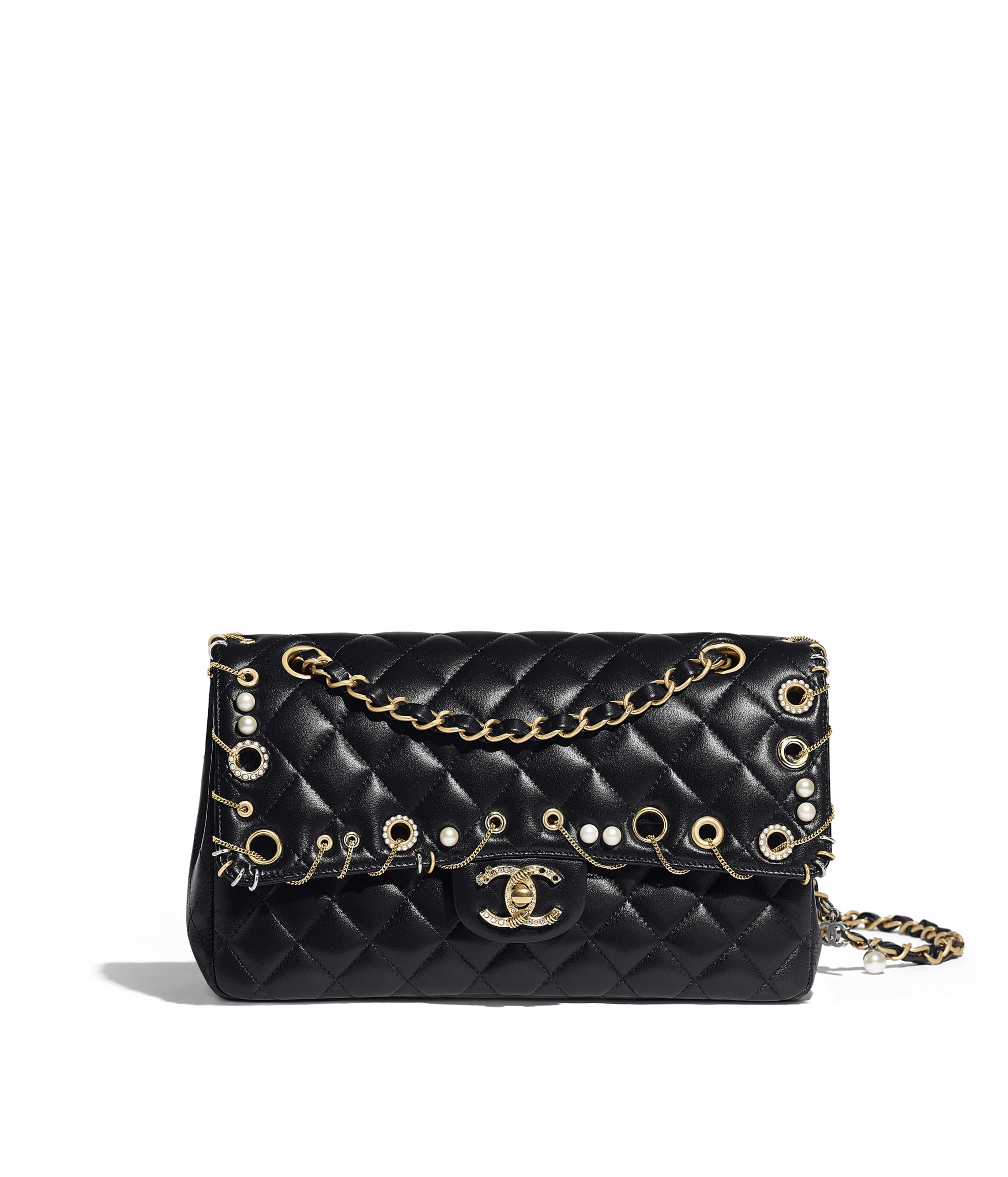 caf2209b55 Classic Handbag Lambskin