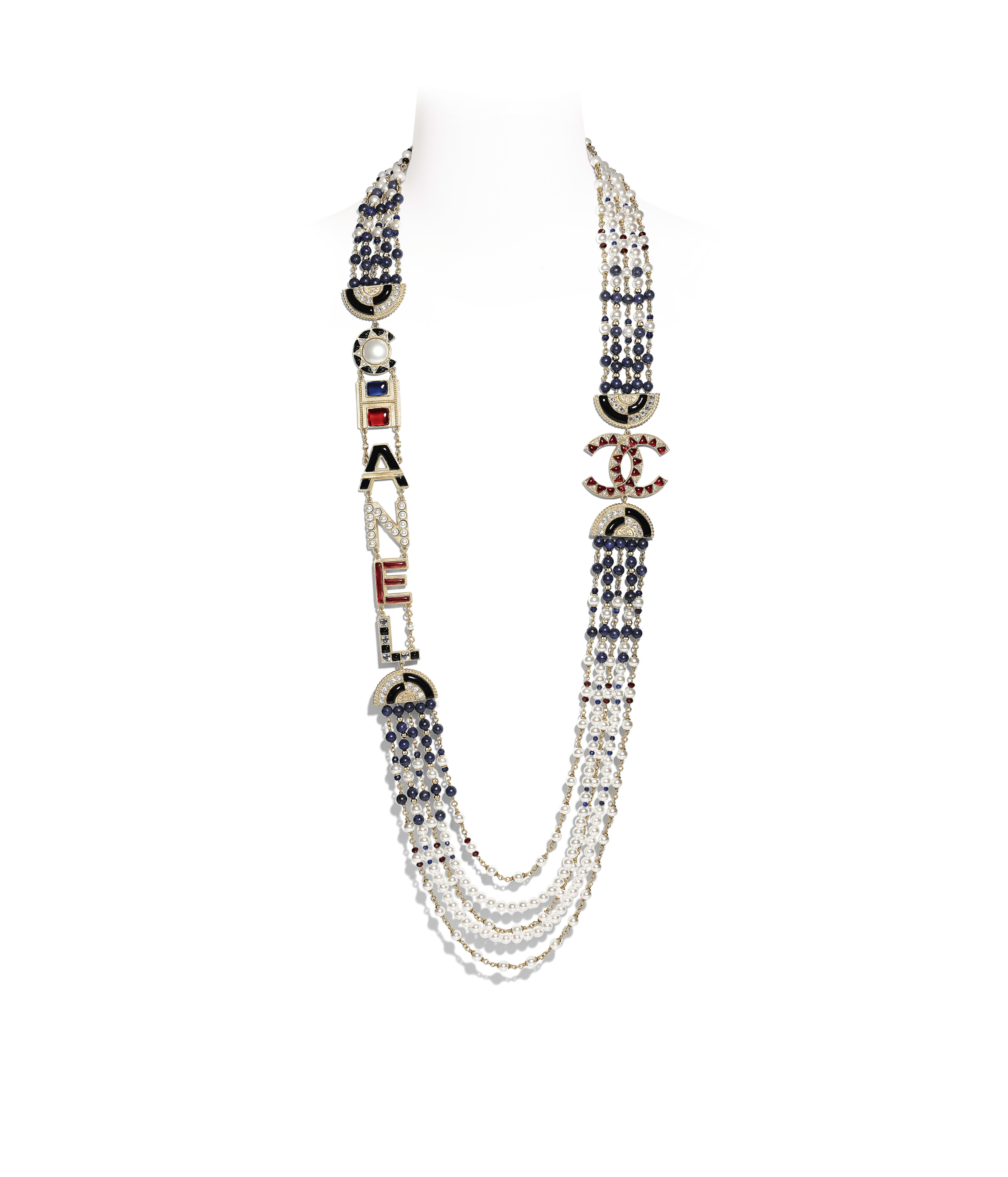 2 Piece Glass Bead And Dark Metal Costume Jewelly With Traditional Methods Necklaces & Pendants Jewelry & Watches