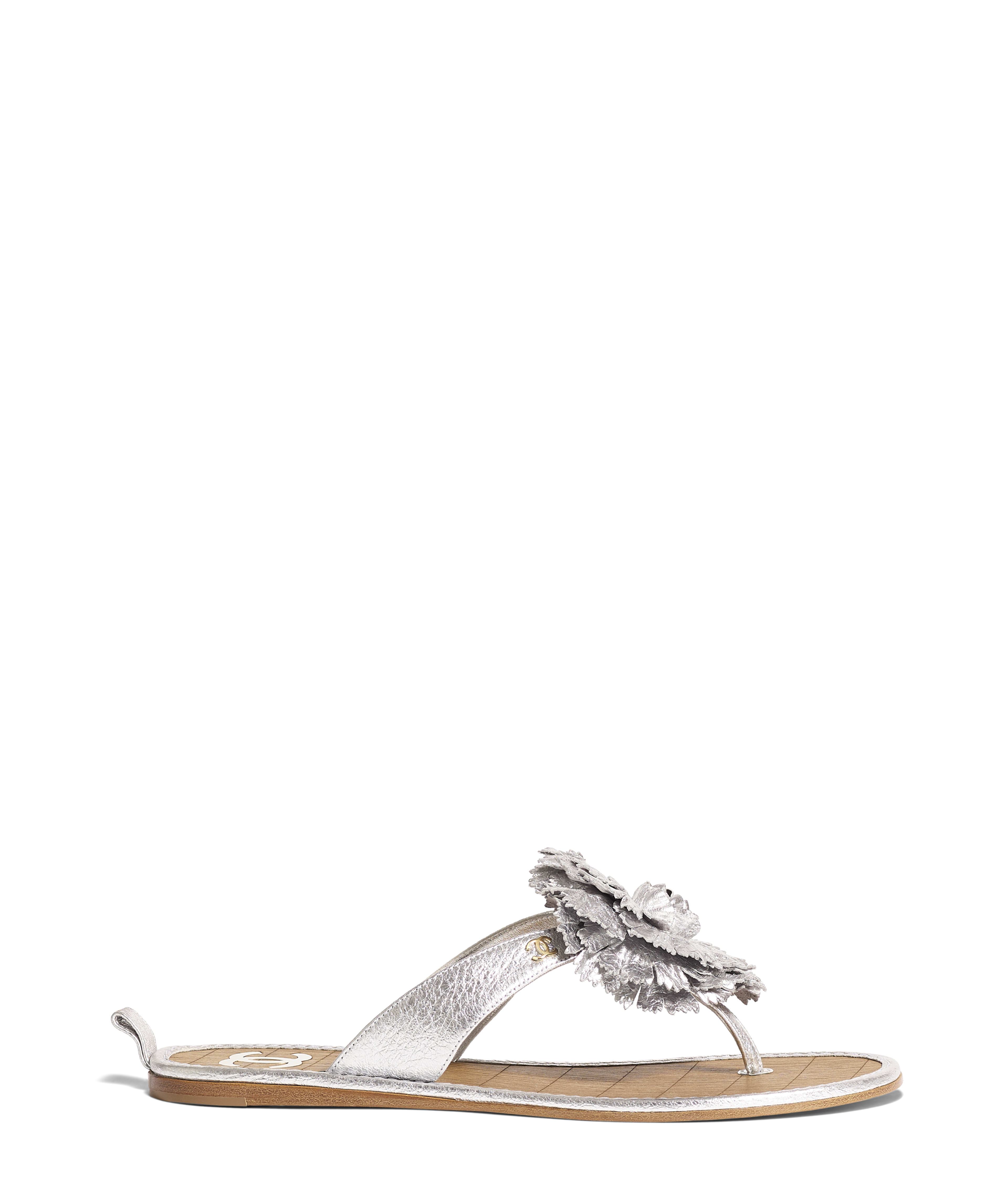 Sandals Laminated Crumpled Goatskin 60fe67f5c