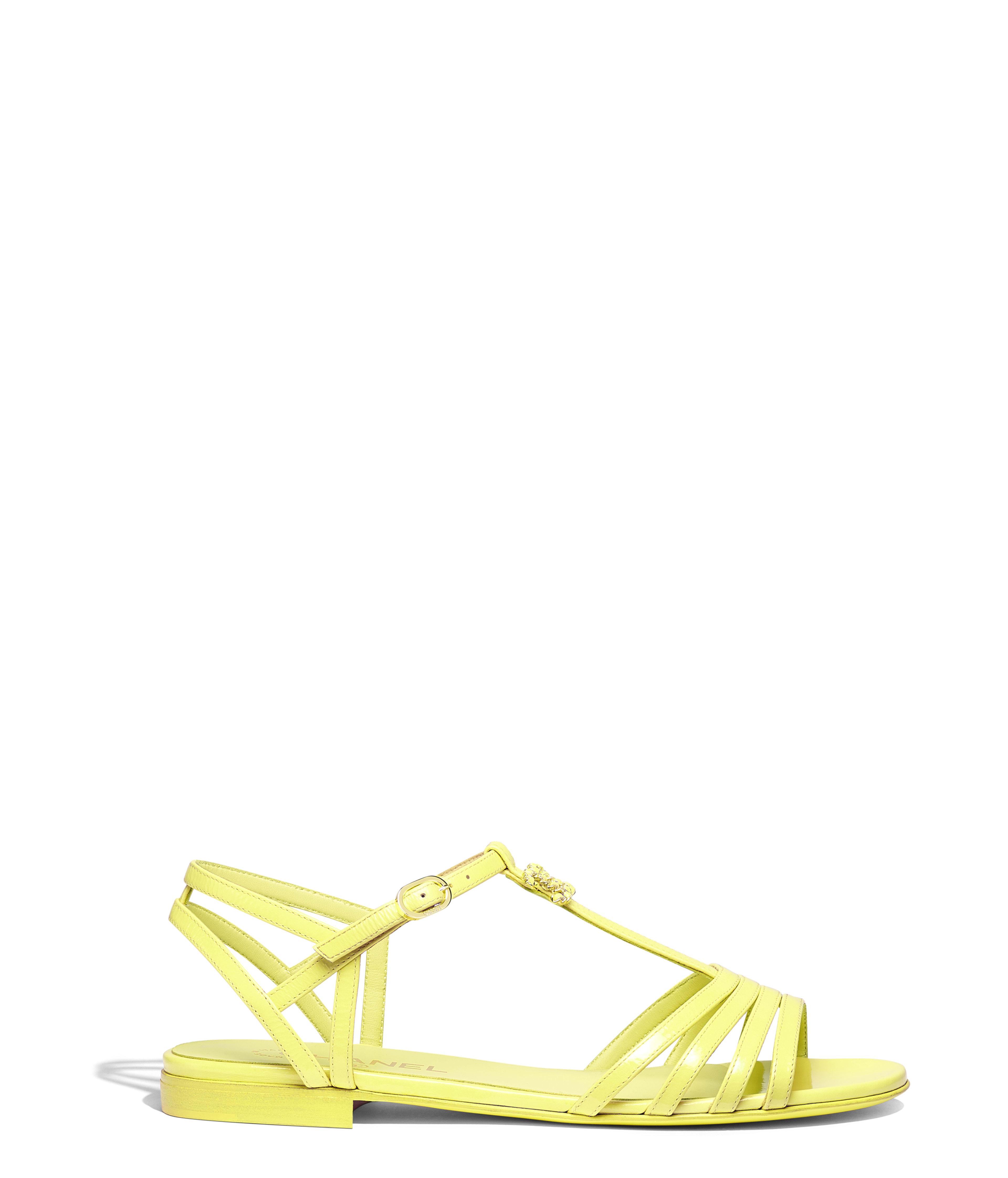 347881430 Sandals Patent Goatskin