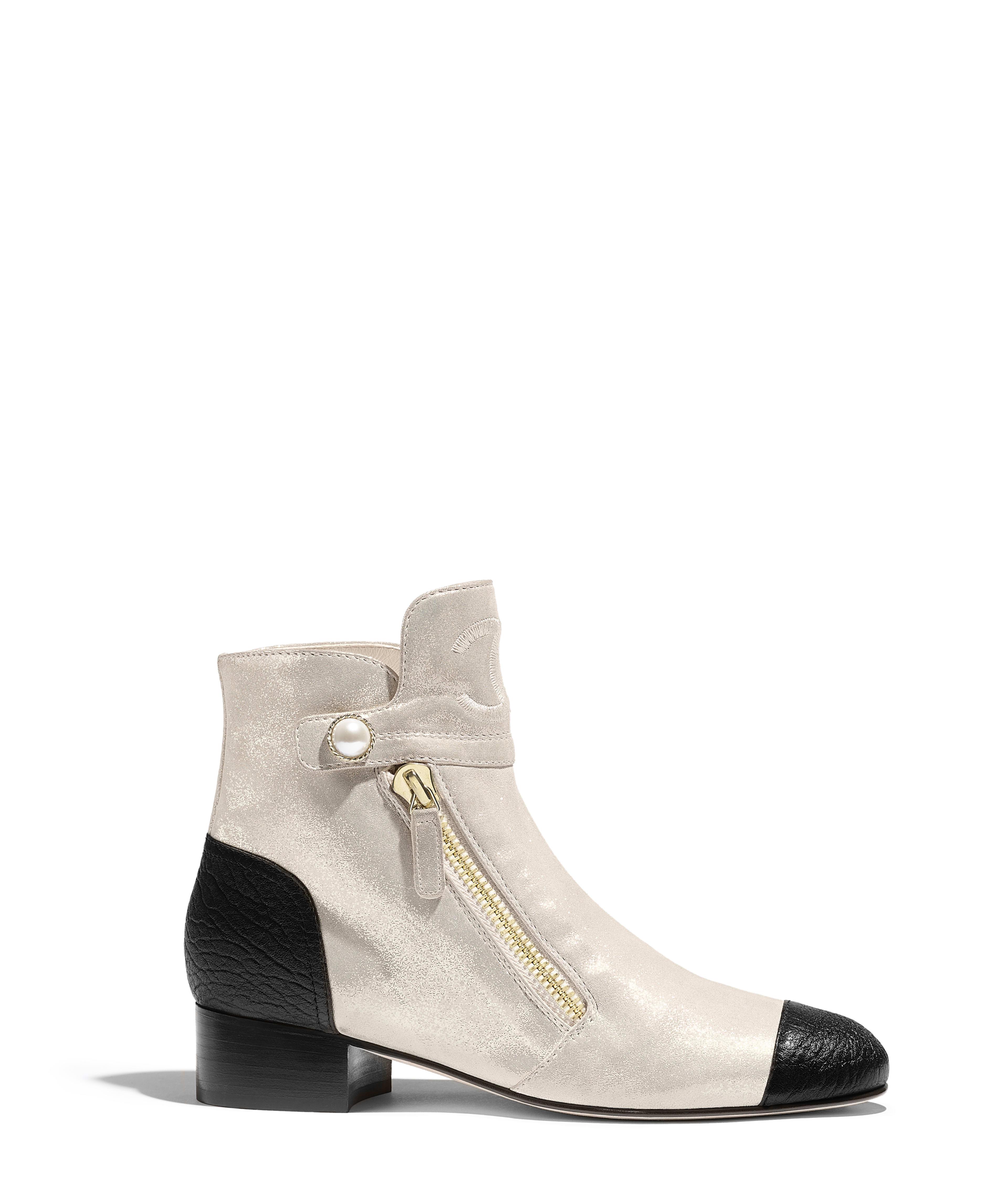 a28c7cfd769e Short Boots Lambskin & Laminated Lambskin, Gold & Black Ref.  G34342Y53123C0369