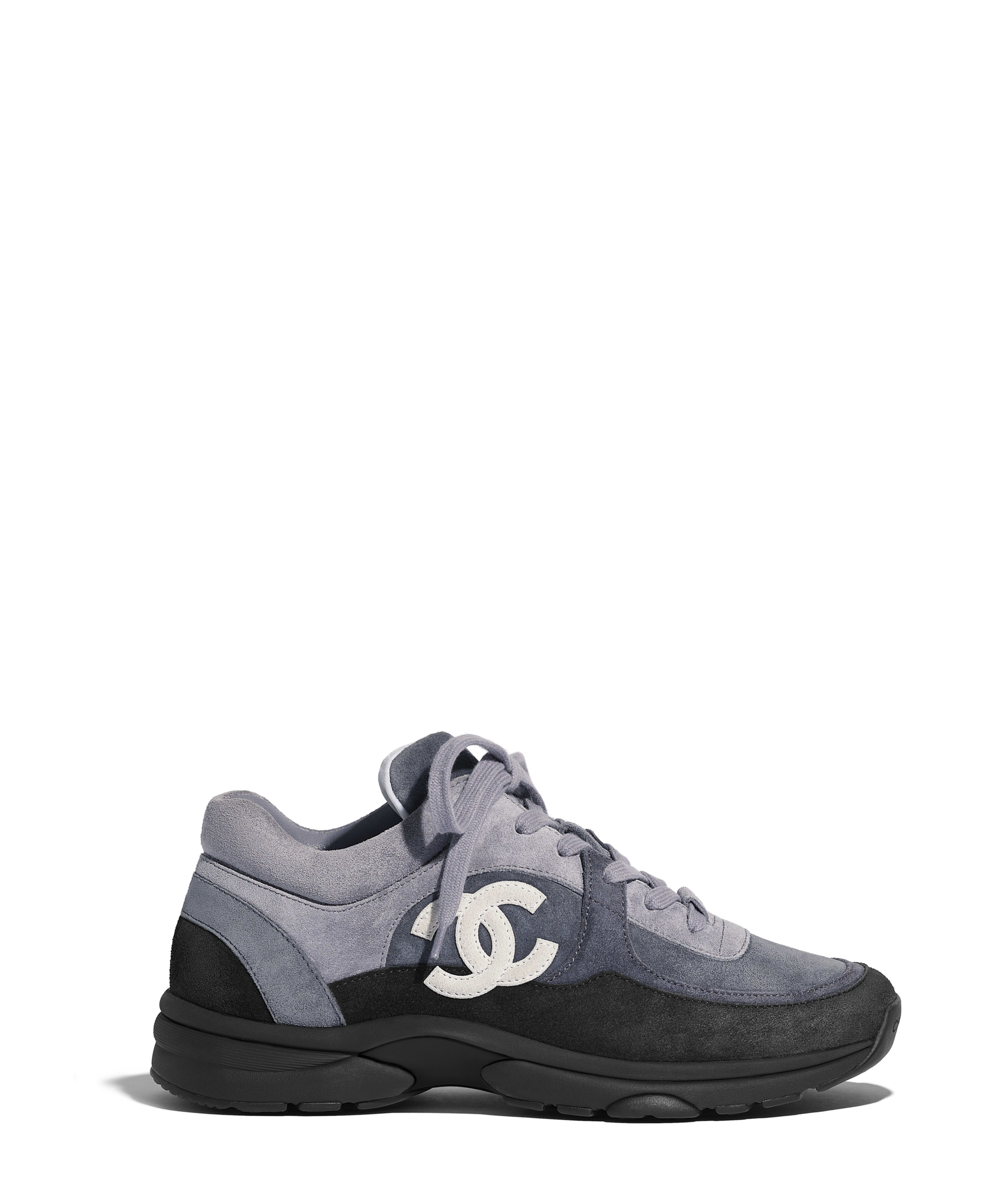 d51be3a16f5 Sneakers Suede Calfskin
