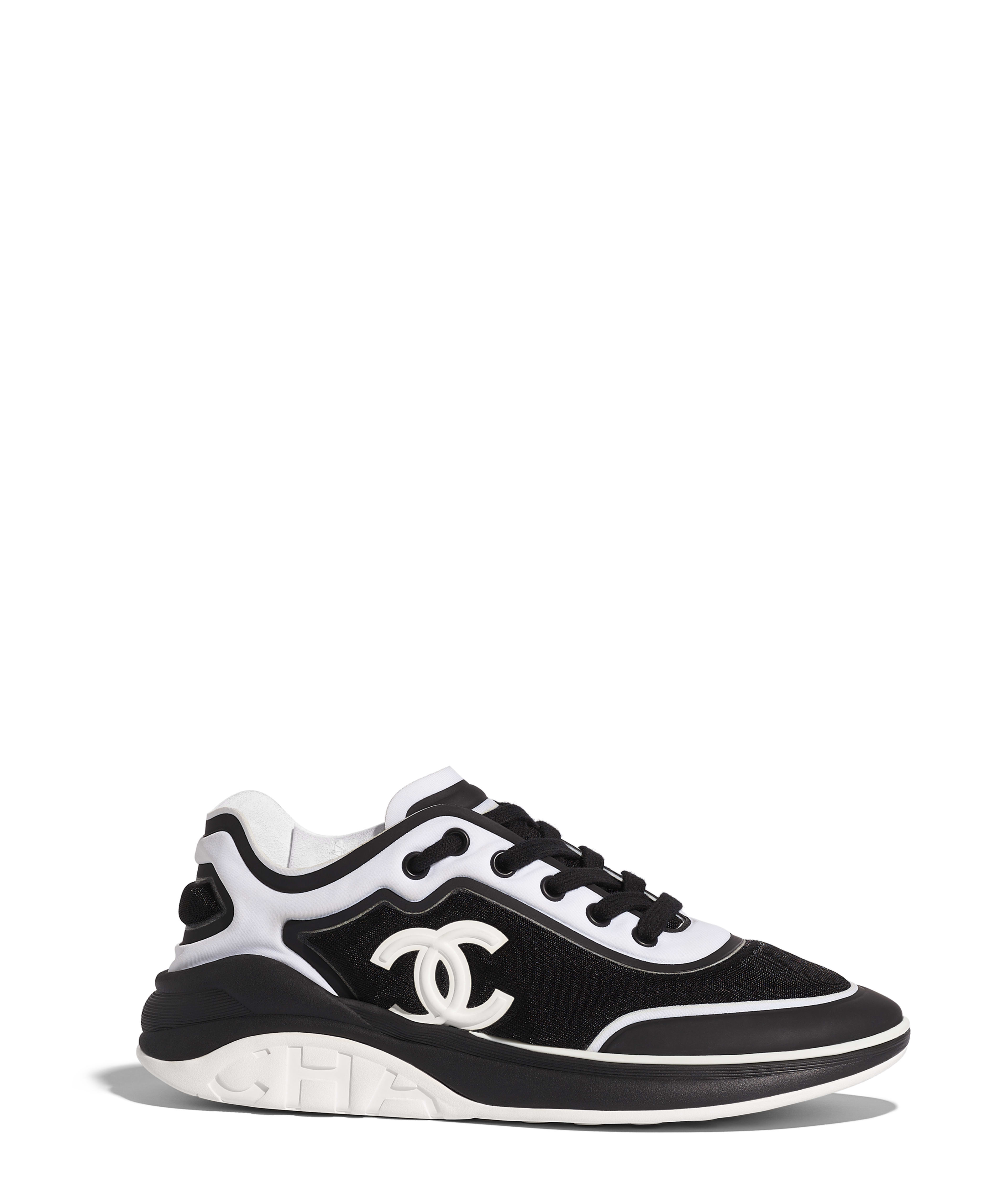 Sneakers mesh lycra black white ref g34763y53288c0229