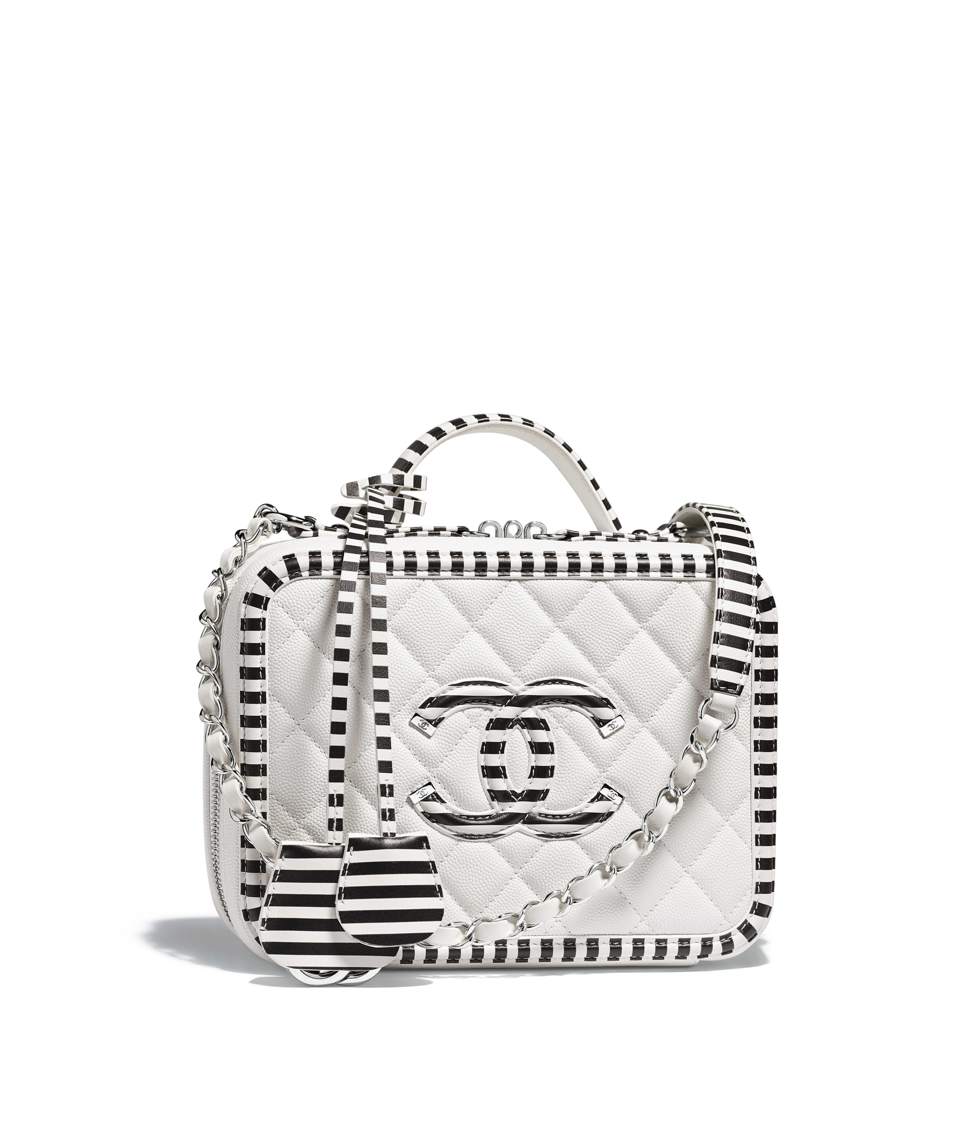 66bc23271c5c Pink And White Chanel Bag