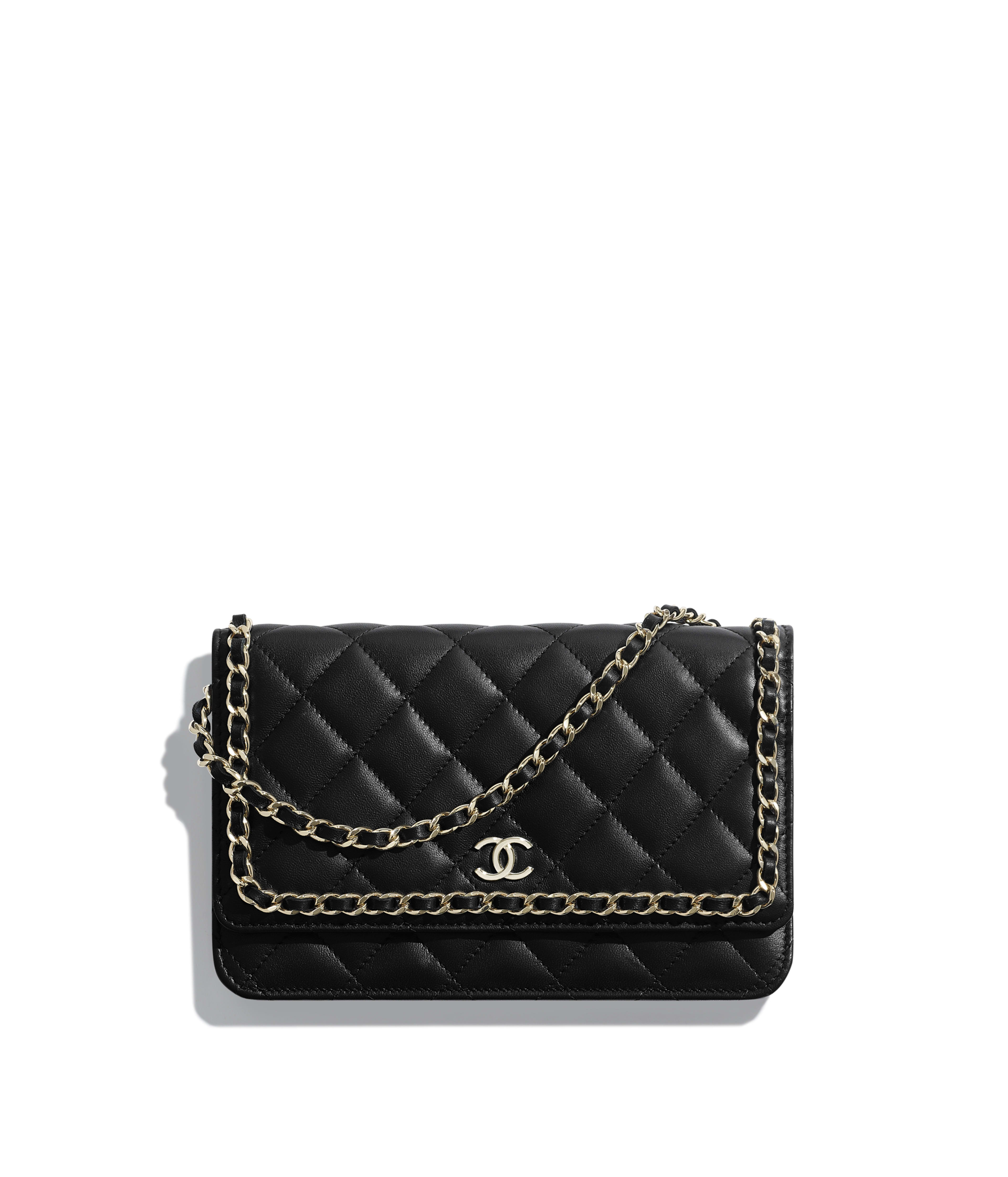 Wallets On Chain Small Leather Goods Chanel