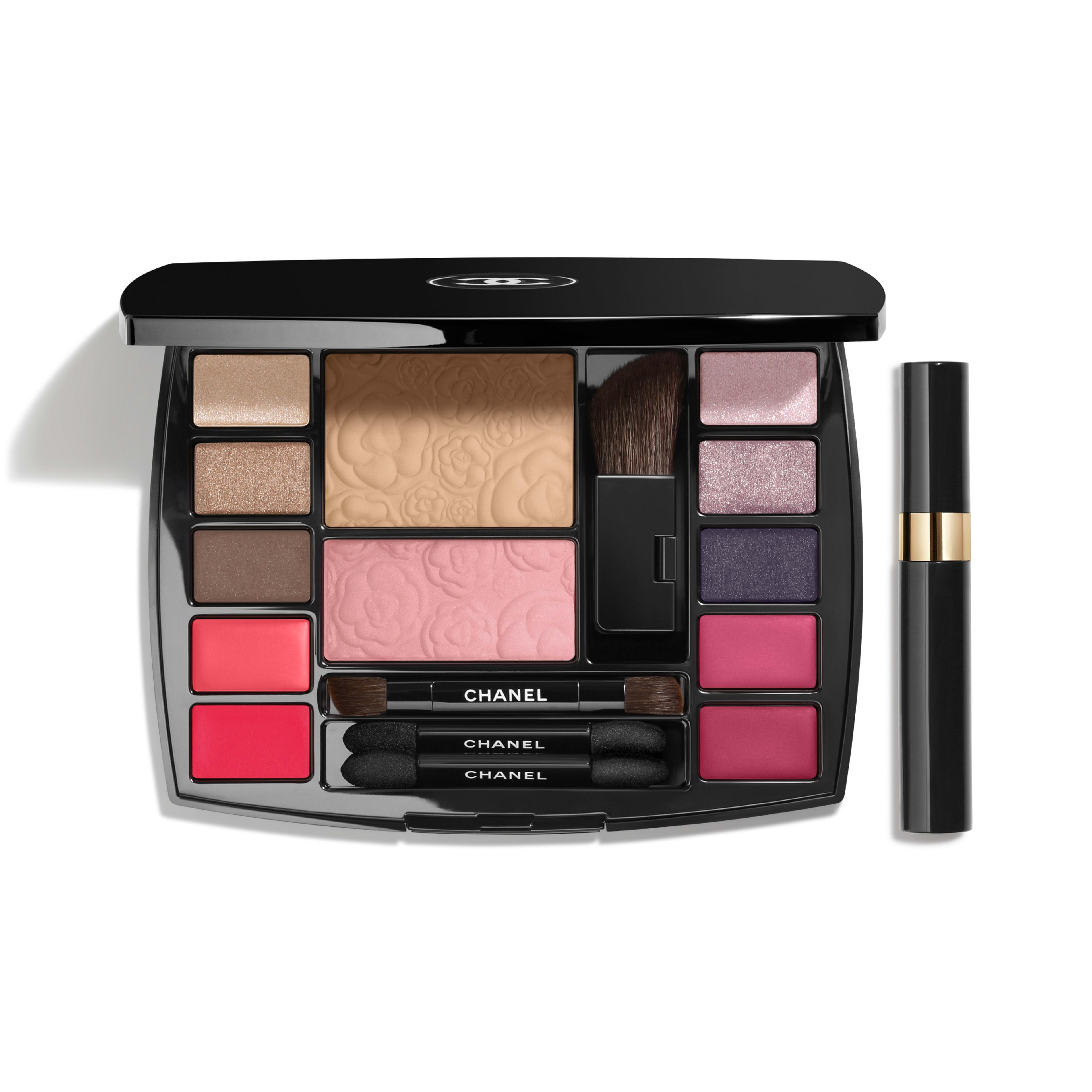 TRAVEL MAKEUP PALETTE Makeup Essentials with Travel Mascara in Harmonie de Camélias