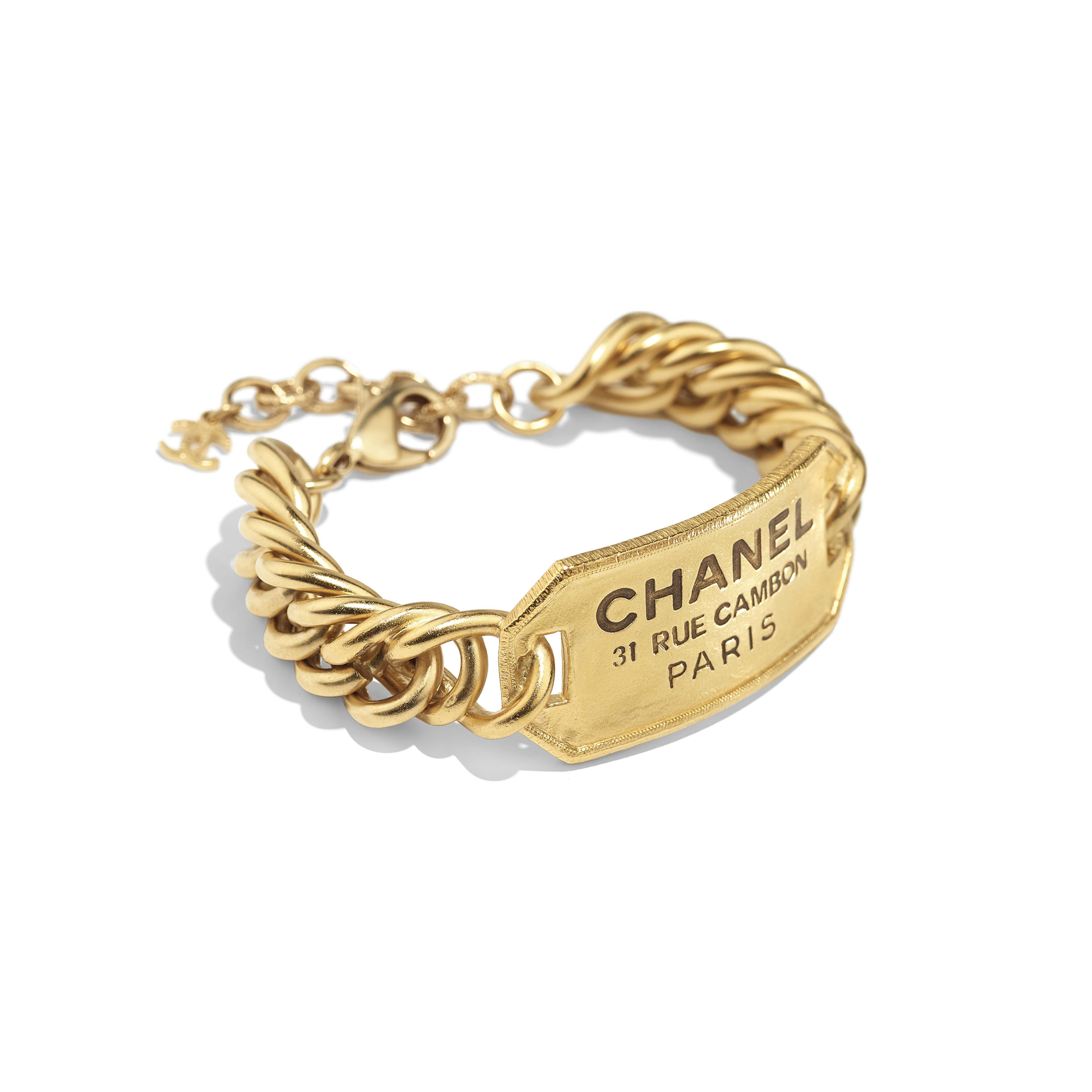 Bracelet - Gold - Metal - Alternative view - see full sized version
