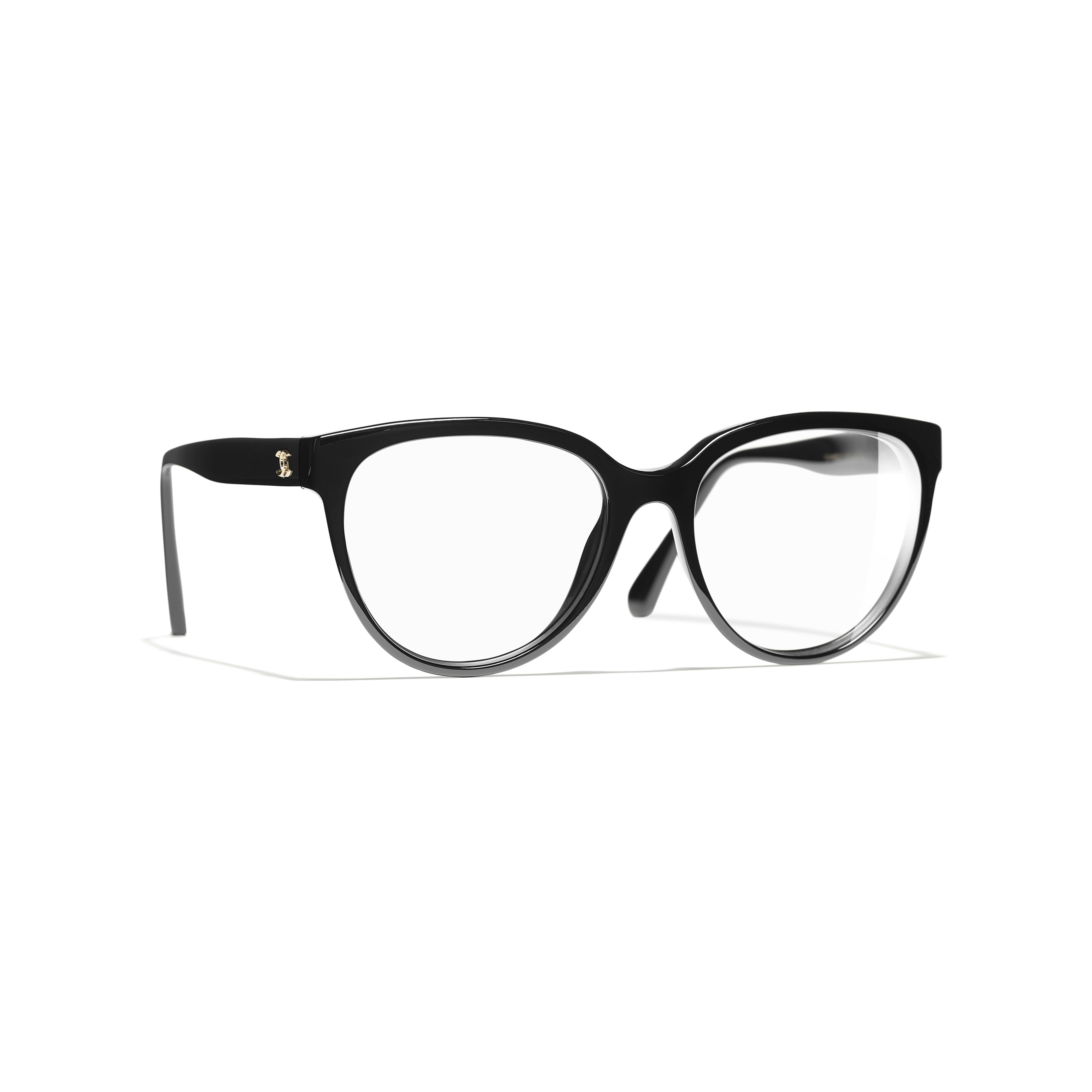 Butterfly Eyeglasses - Black - Acetate - Default view - see full sized version