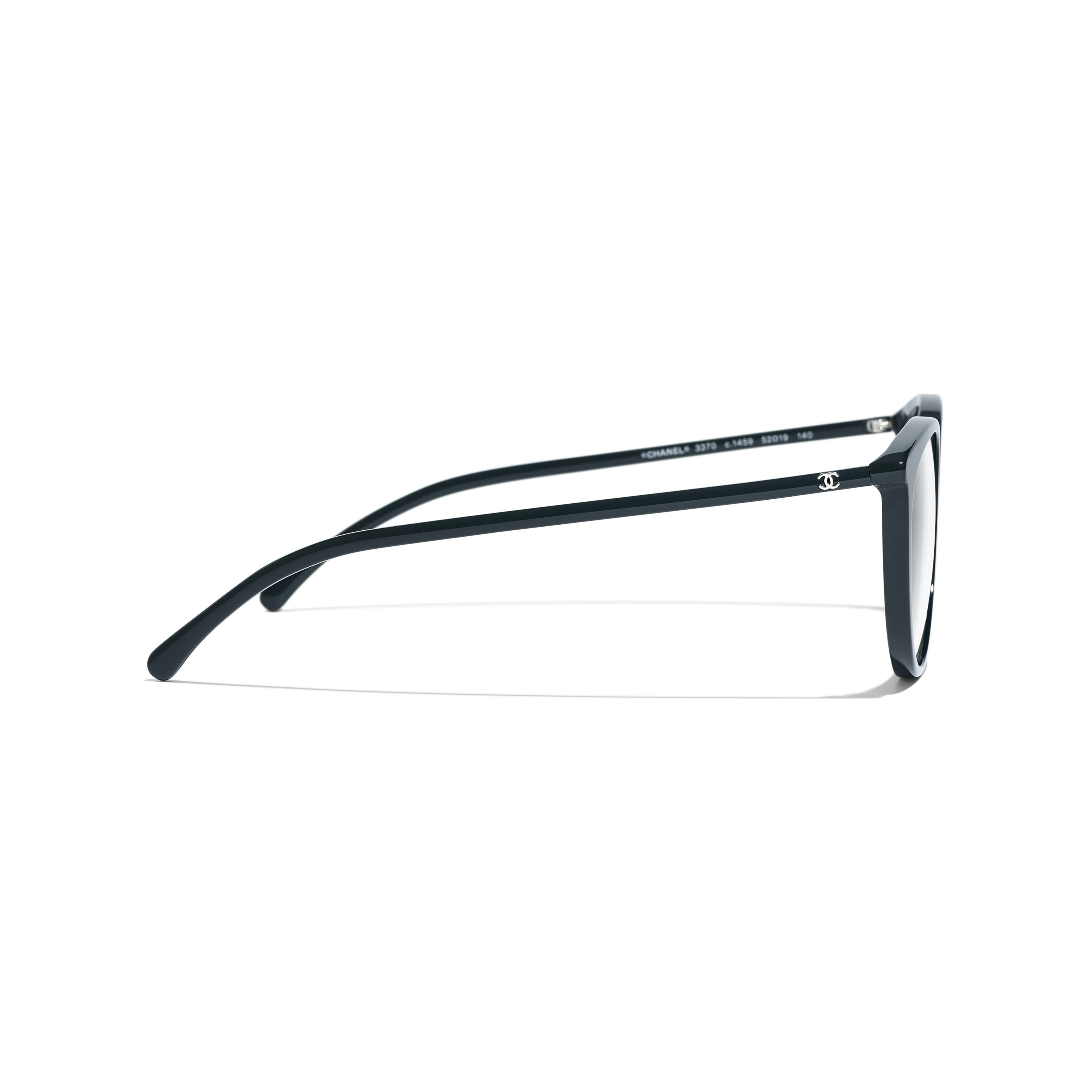 Butterfly Eyeglasses - Dark Green - Acetate - Other view - see full sized version
