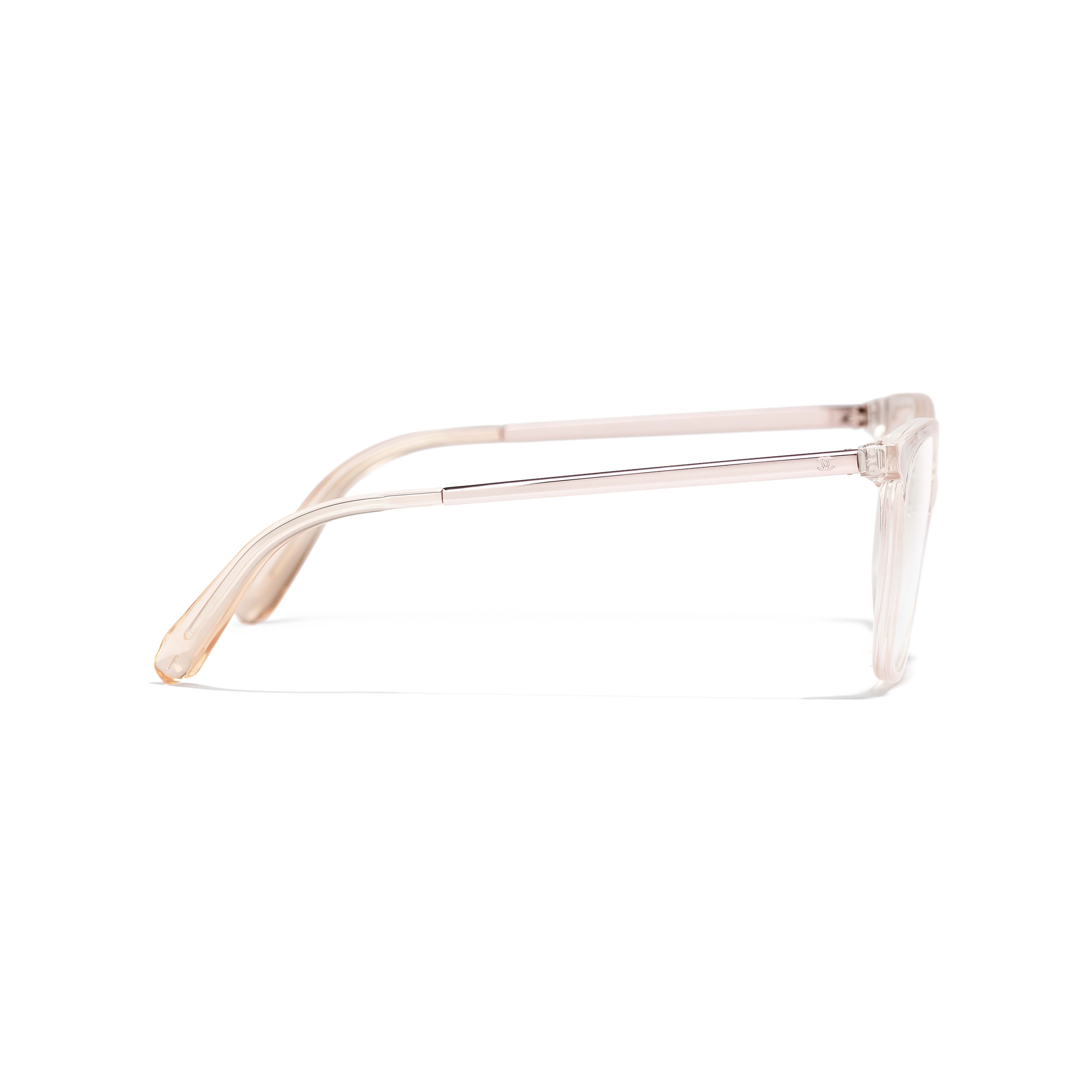Butterfly Eyeglasses - Pink - Acetate & Metal - Other view - see full sized version