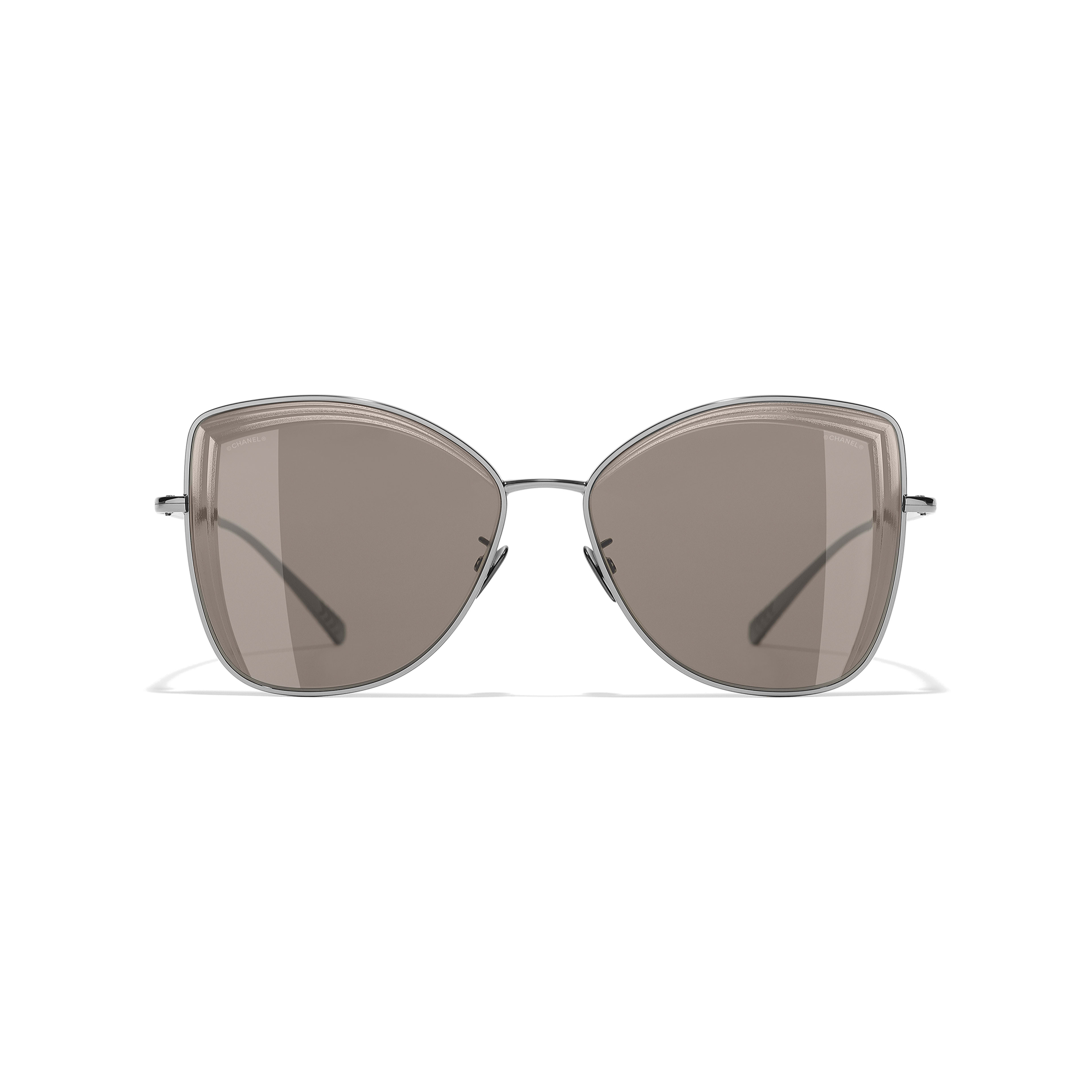 Butterfly Sunglasses - Dark Silver - Metal - Alternative view - see full sized version